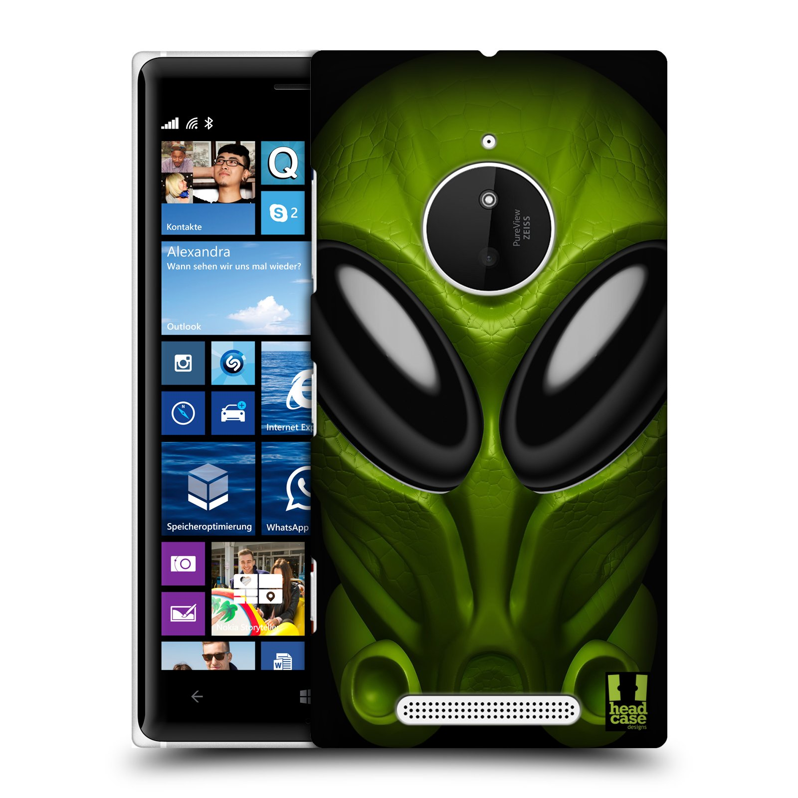 Plastové pouzdro na mobil Nokia Lumia 830 - Head Case - Ufoun Mastermind
