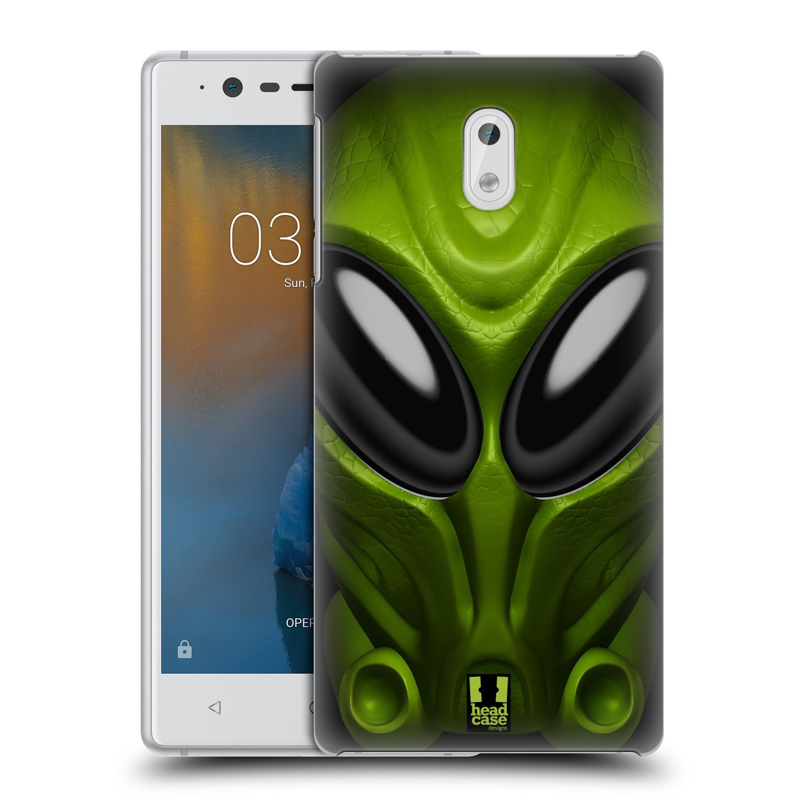 Plastové pouzdro na mobil Nokia 3 Head Case - Ufoun Mastermind