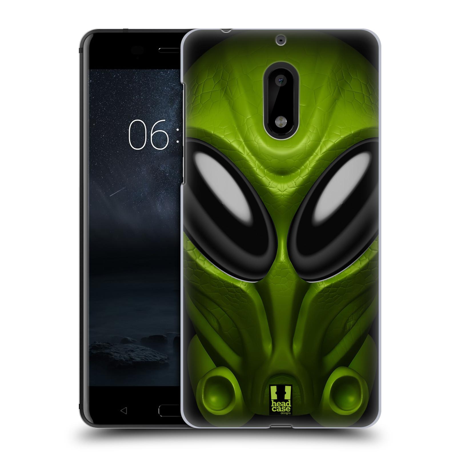 Plastové pouzdro na mobil Nokia 6 - Head Case - Ufoun Mastermind (Plastový kryt či obal na mobilní telefon s motivem Ufouna Masterminda pro Nokia 6 (Dual SIM))
