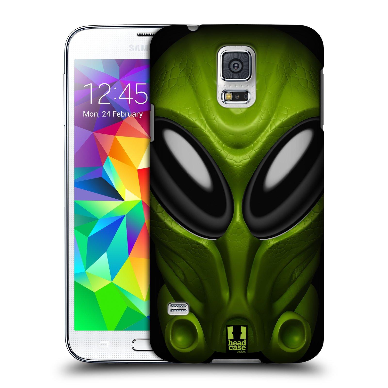 Plastové pouzdro na mobil Samsung Galaxy S5 - Head Case - Ufoun Mastermind