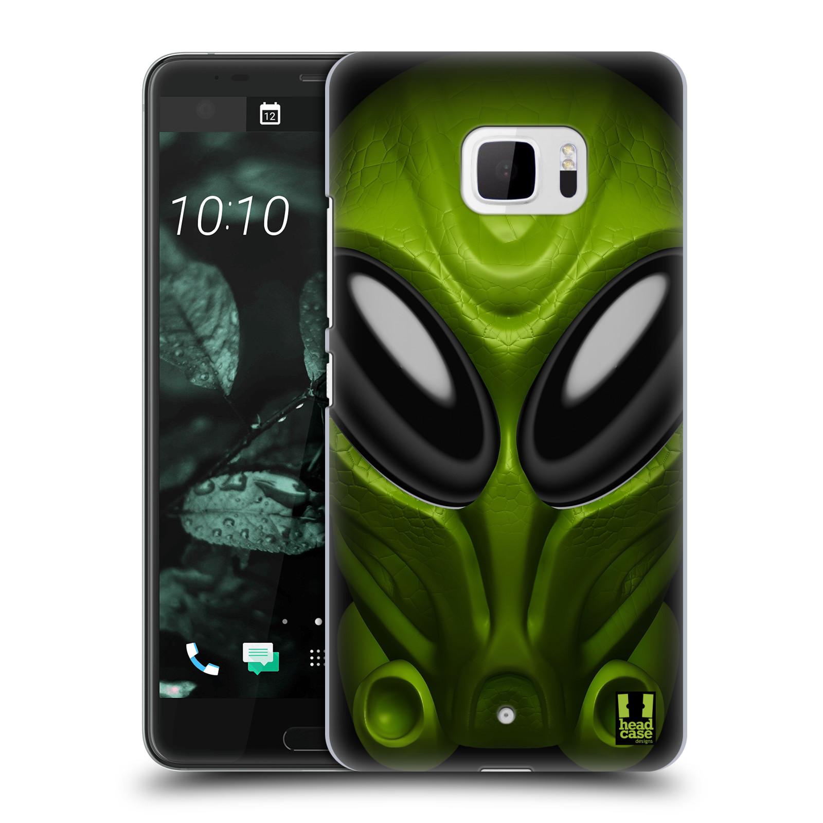 Plastové pouzdro na mobil HTC U Ultra Head Case - Ufoun Mastermind (Plastový kryt či obal na mobilní telefon s motivem Ufouna Masterminda pro HTC U Ultra (99HALT015-00))