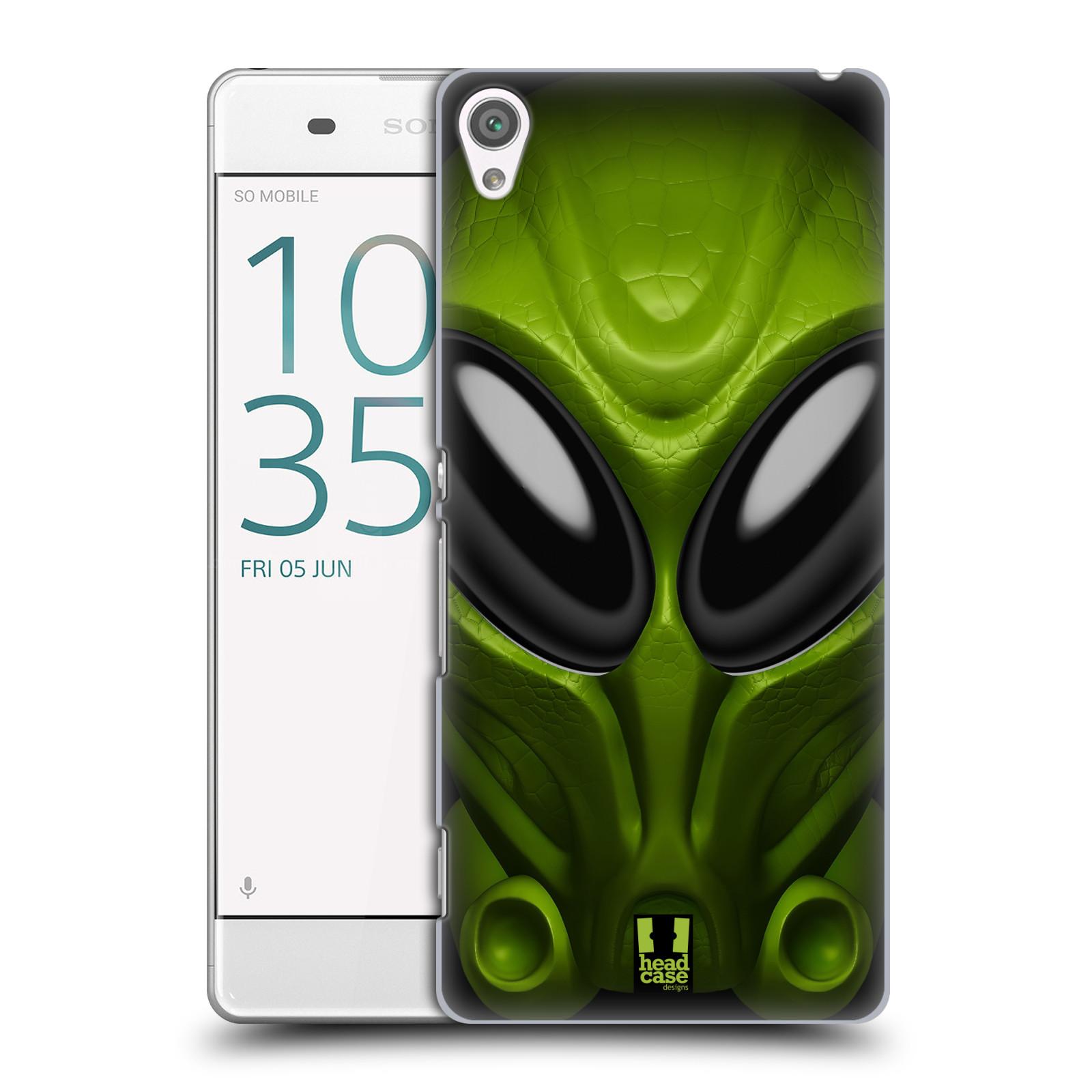 Plastové pouzdro na mobil Sony Xperia XA - Head Case - Ufoun Mastermind