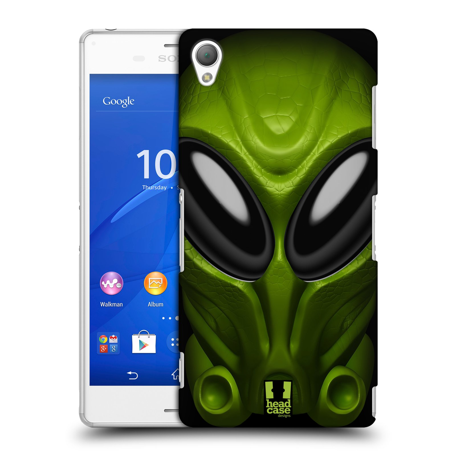 Plastové pouzdro na mobil Sony Xperia Z3 D6603 - Head Case - Ufoun Mastermind (Plastový kryt či obal na mobilní telefon s motivem Ufouna Masterminda pro Sony Xperia Z3)