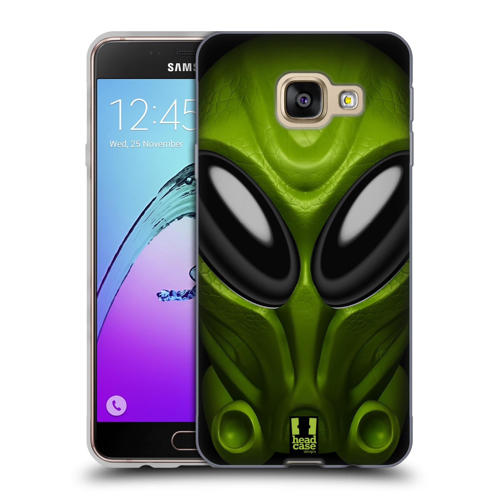 Silikonové pouzdro na mobil Samsung Galaxy A3 (2016) - Head Case - Ufoun Mastermind