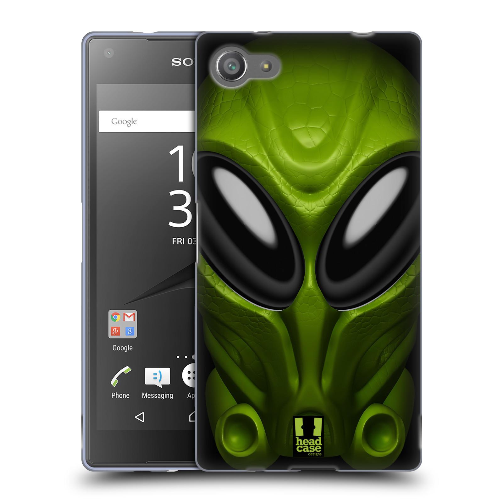 Silikonové pouzdro na mobil Sony Xperia Z5 Compact - Head Case - Ufoun Mastermind