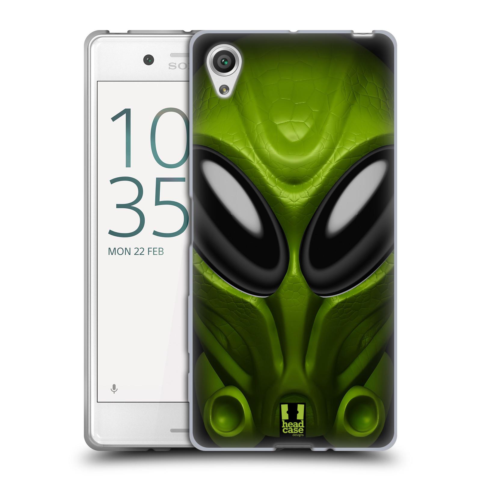Silikonové pouzdro na mobil Sony Xperia X - Head Case - Ufoun Mastermind