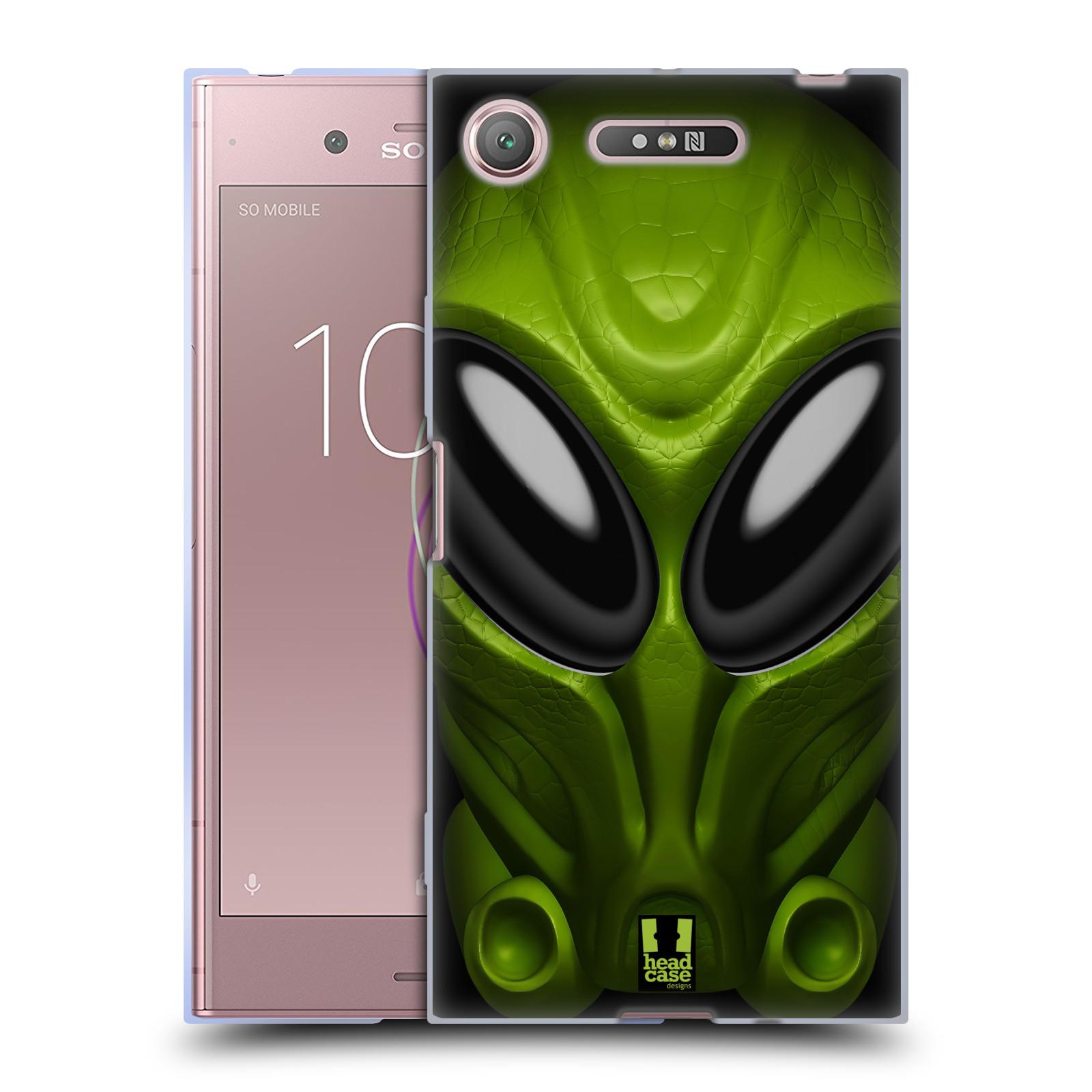 Silikonové pouzdro na mobil Sony Xperia XZ1 - Head Case - Ufoun Mastermind