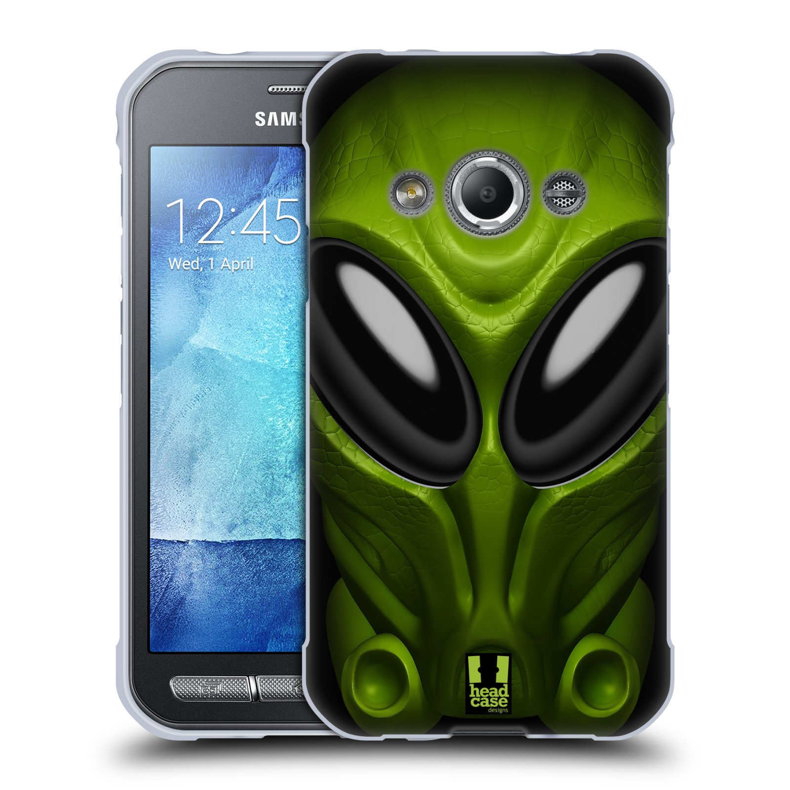 Silikonové pouzdro na mobil Samsung Galaxy Xcover 3 - Head Case - Ufoun Mastermind