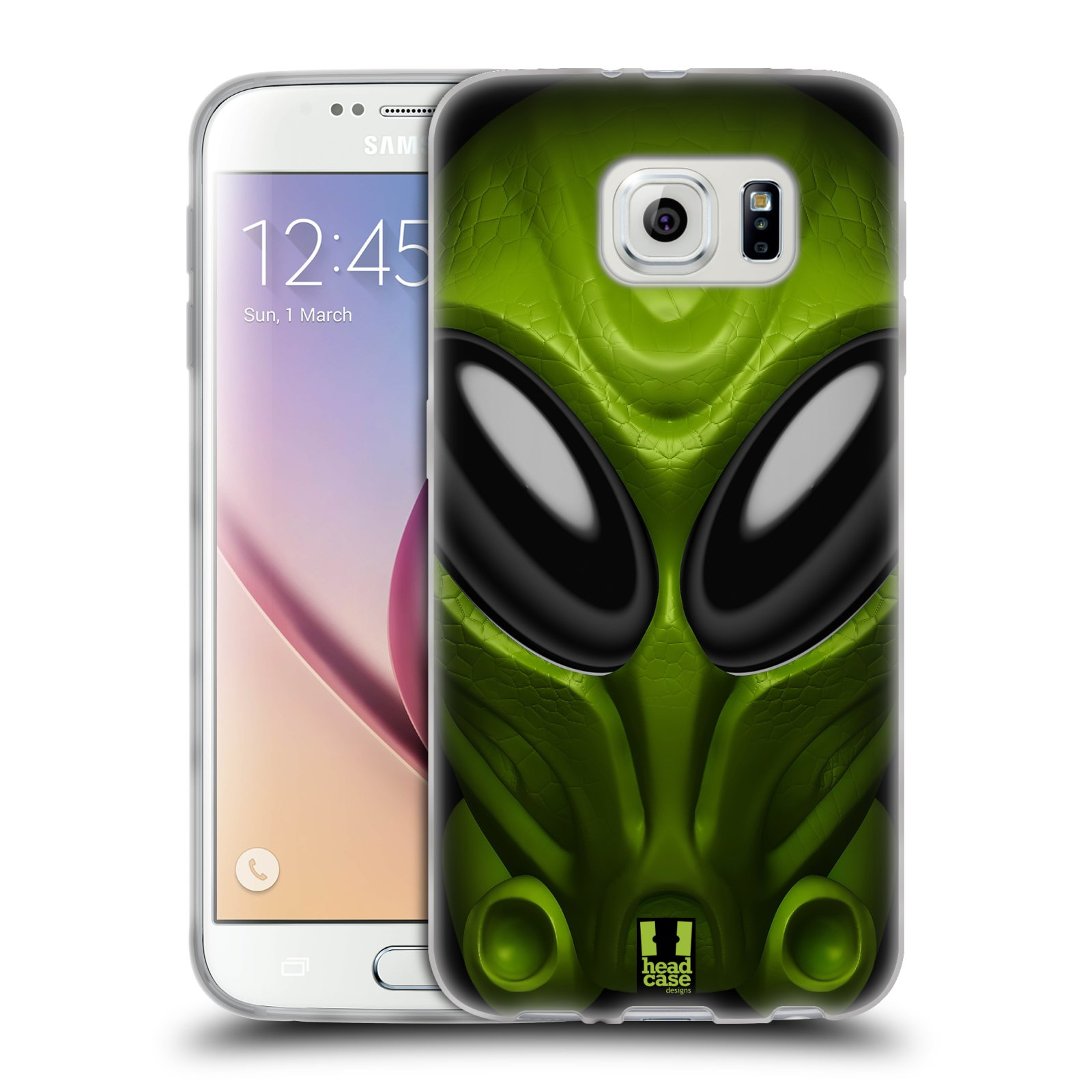 Silikonové pouzdro na mobil Samsung Galaxy S6 - Head Case - Ufoun Mastermind