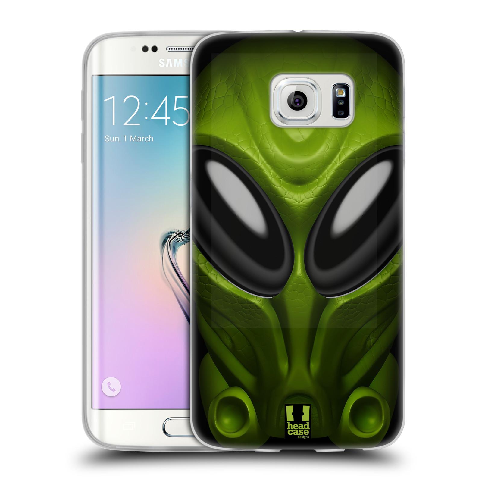 Silikonové pouzdro na mobil Samsung Galaxy S6 Edge - Head Case - Ufoun Mastermind