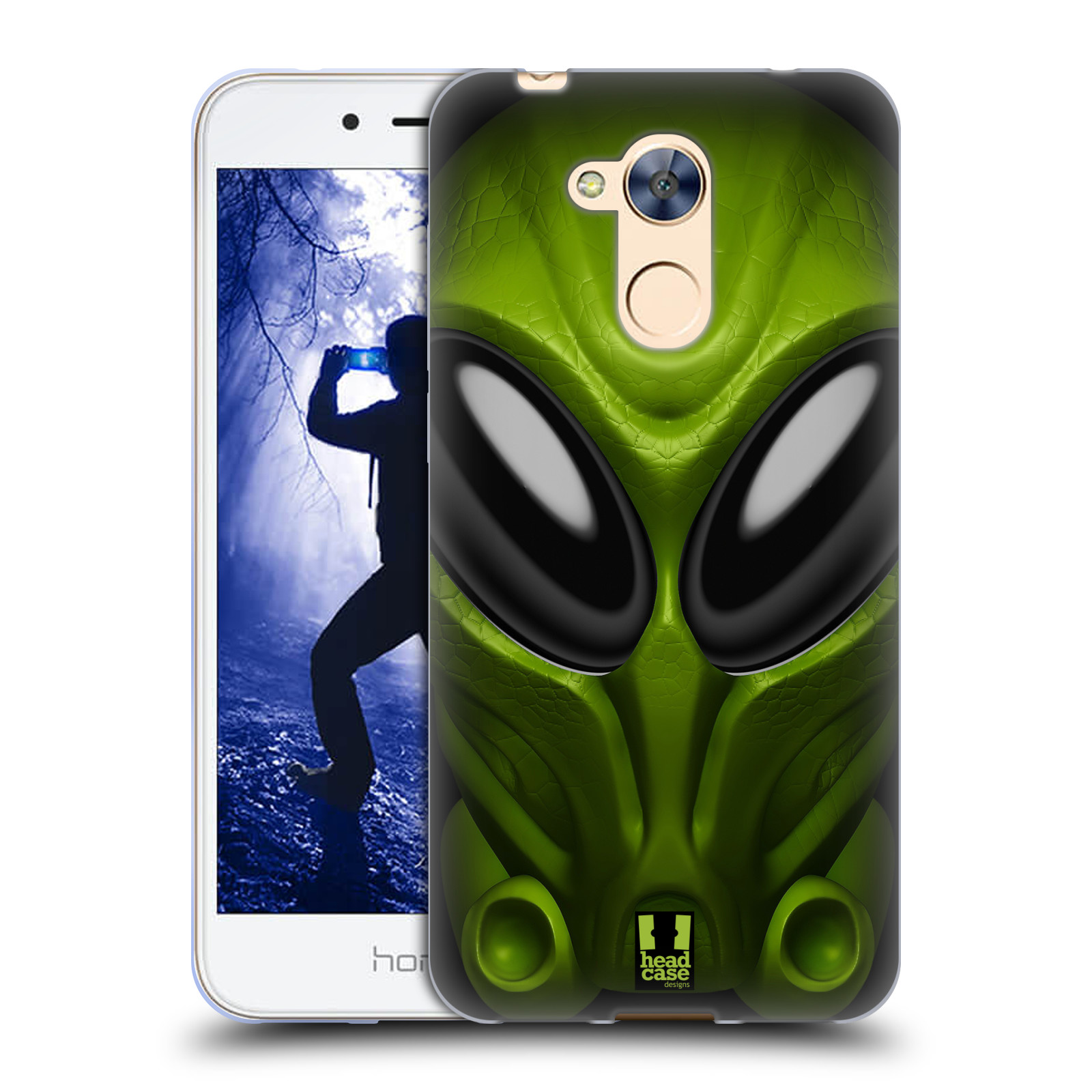 Silikonové pouzdro na mobil Honor 6A - Head Case - Ufoun Mastermind