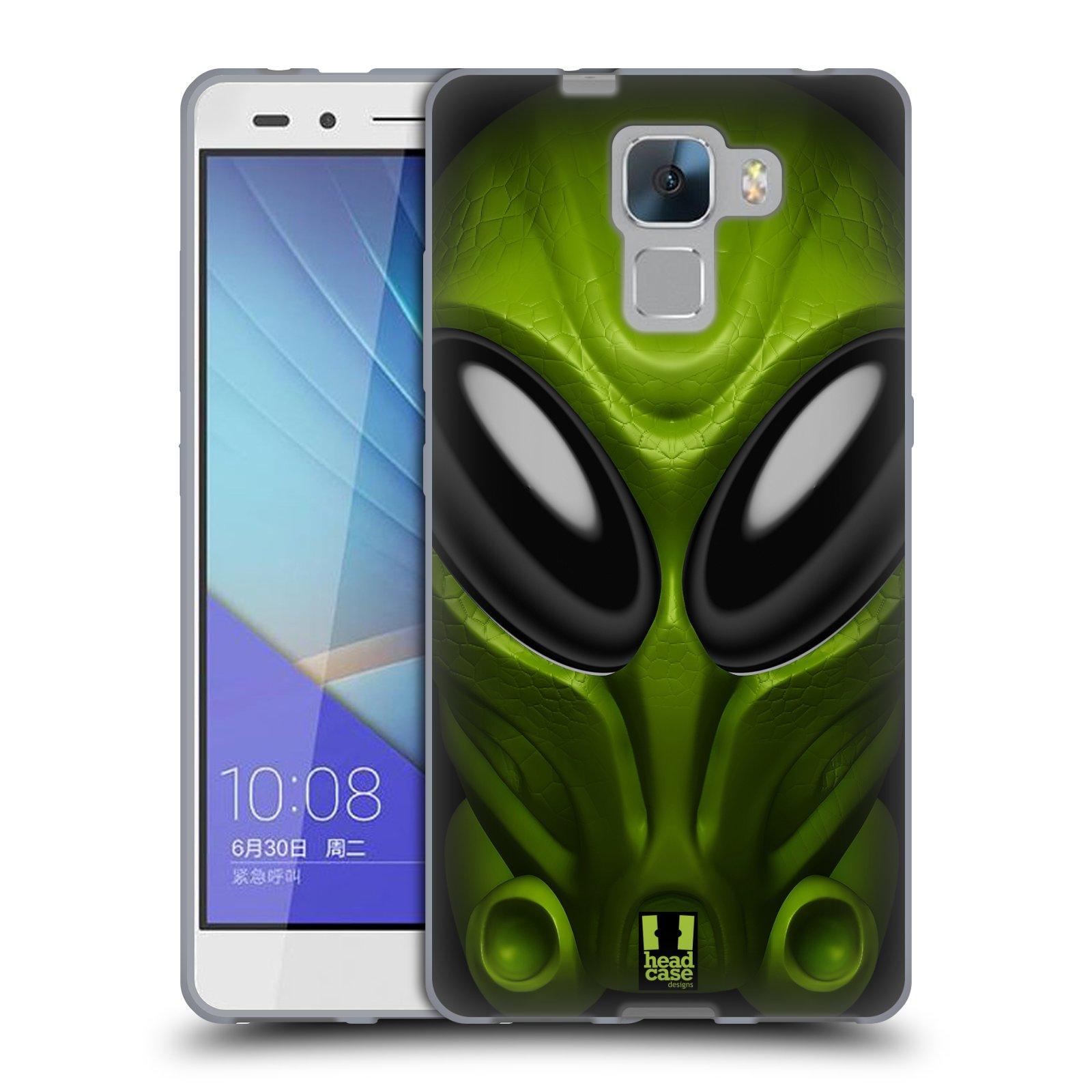Silikonové pouzdro na mobil Honor 7 - Head Case - Ufoun Mastermind