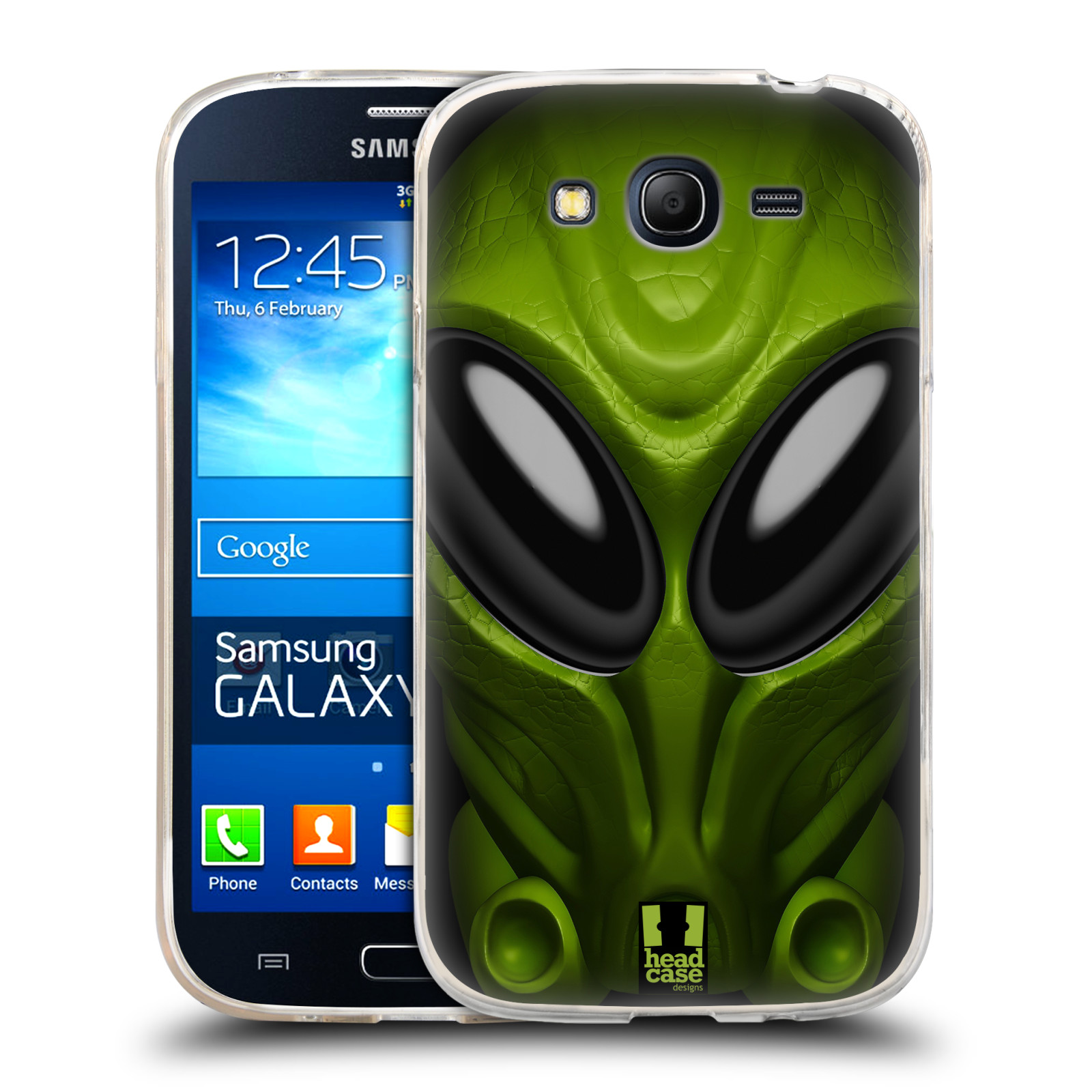 Silikonové pouzdro na mobil Samsung Galaxy Grand Neo - Head Case - Ufoun Mastermind