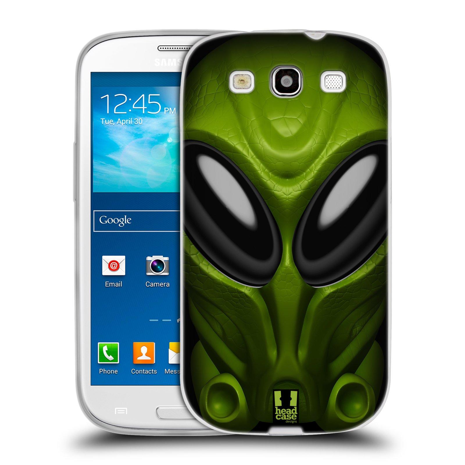 Silikonové pouzdro na mobil Samsung Galaxy S3 Neo - Head Case - Ufoun Mastermind