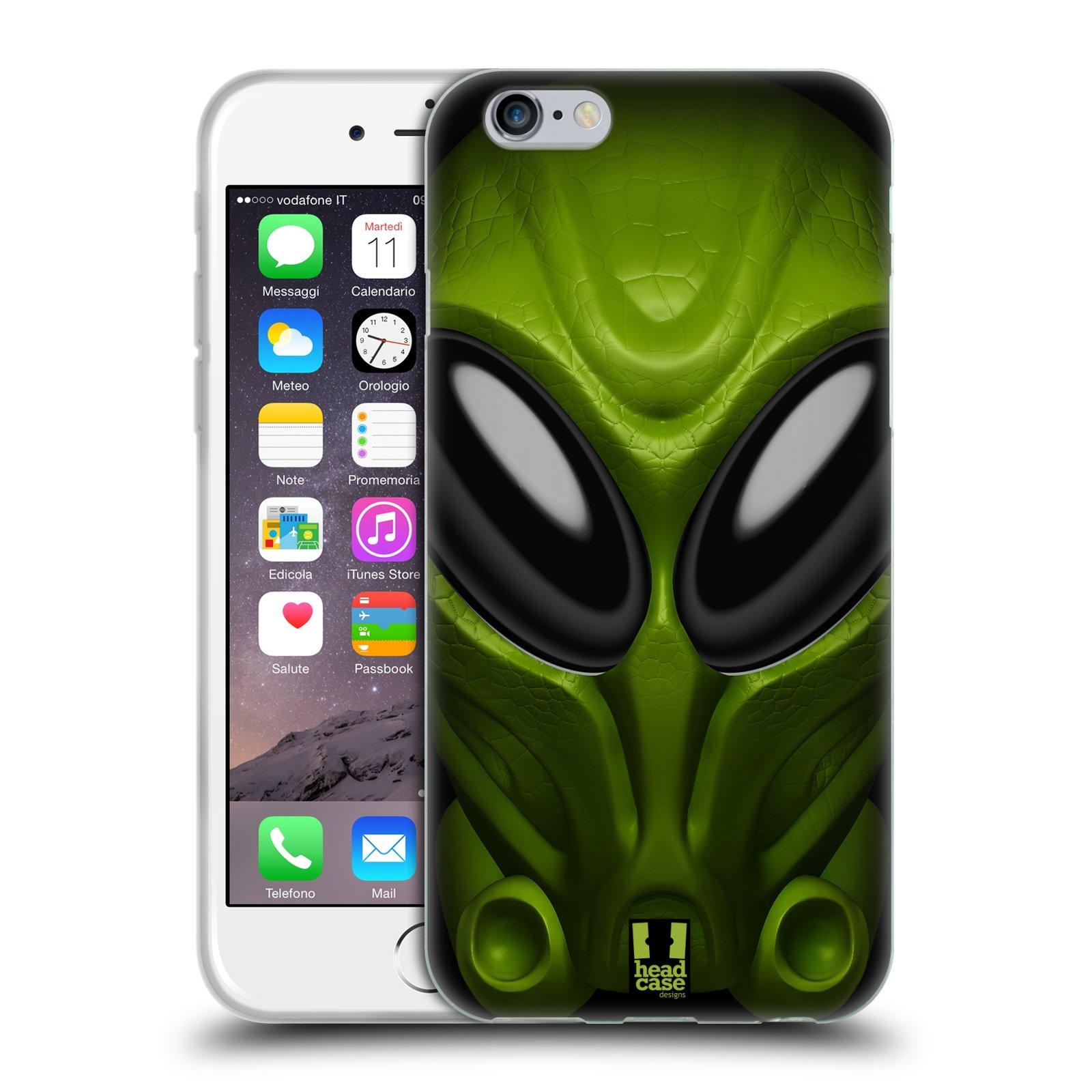 Silikonové pouzdro na mobil Apple iPhone 6 - Head Case - Ufoun Mastermind