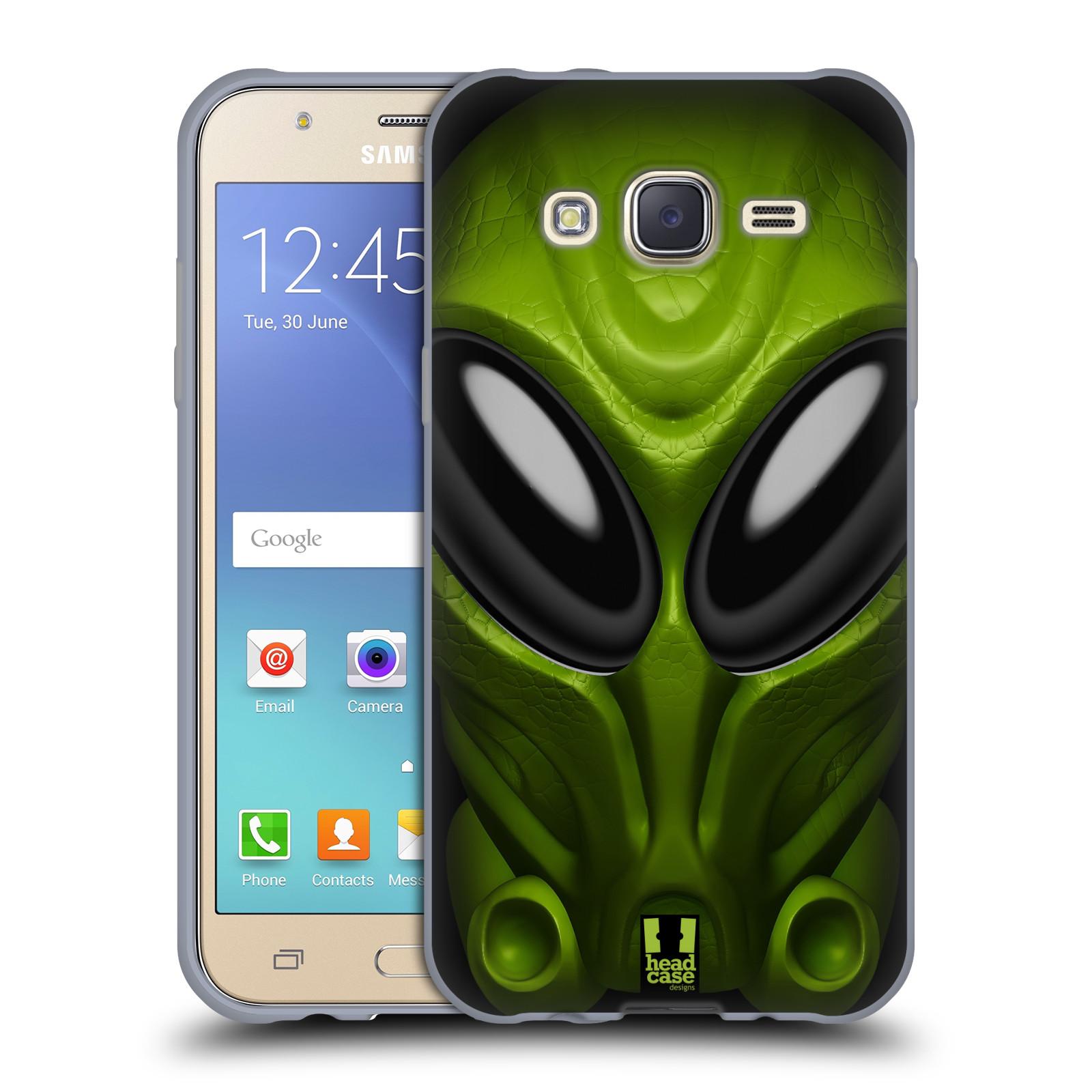 Silikonové pouzdro na mobil Samsung Galaxy J5 - Head Case - Ufoun Mastermind