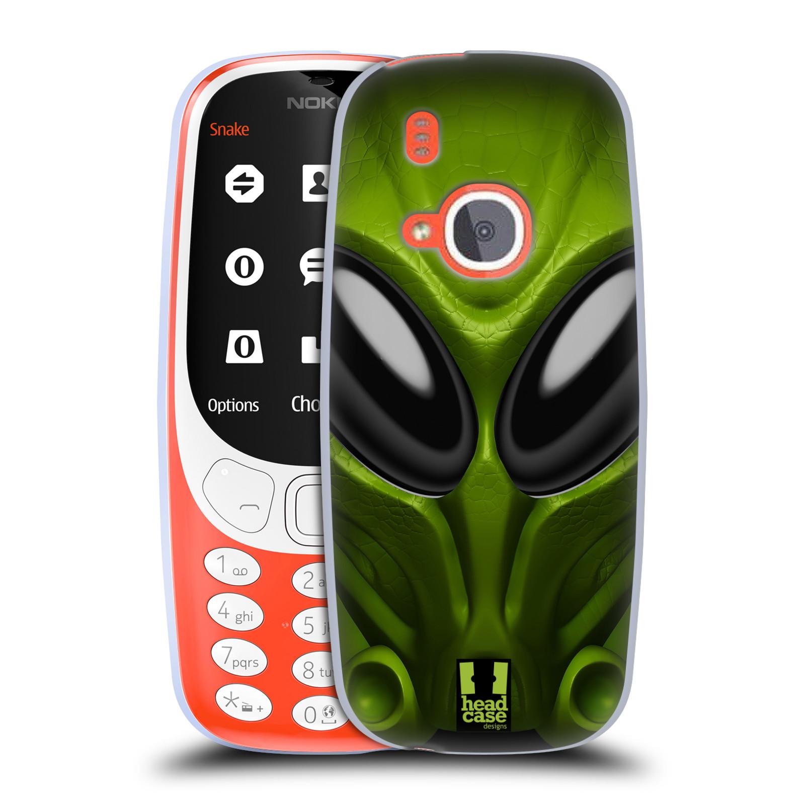 Silikonové pouzdro na mobil Nokia 3310 - Head Case - Ufoun Mastermind