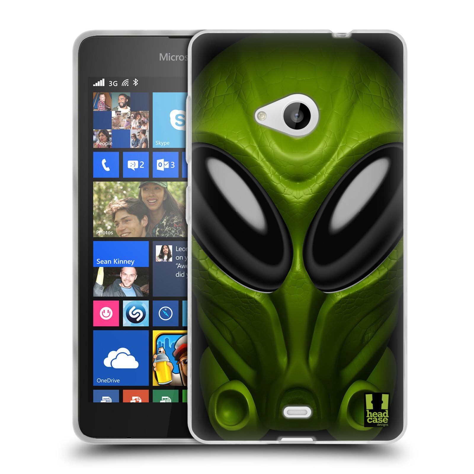 Silikonové pouzdro na mobil Microsoft Lumia 535 - Head Case - Ufoun Mastermind