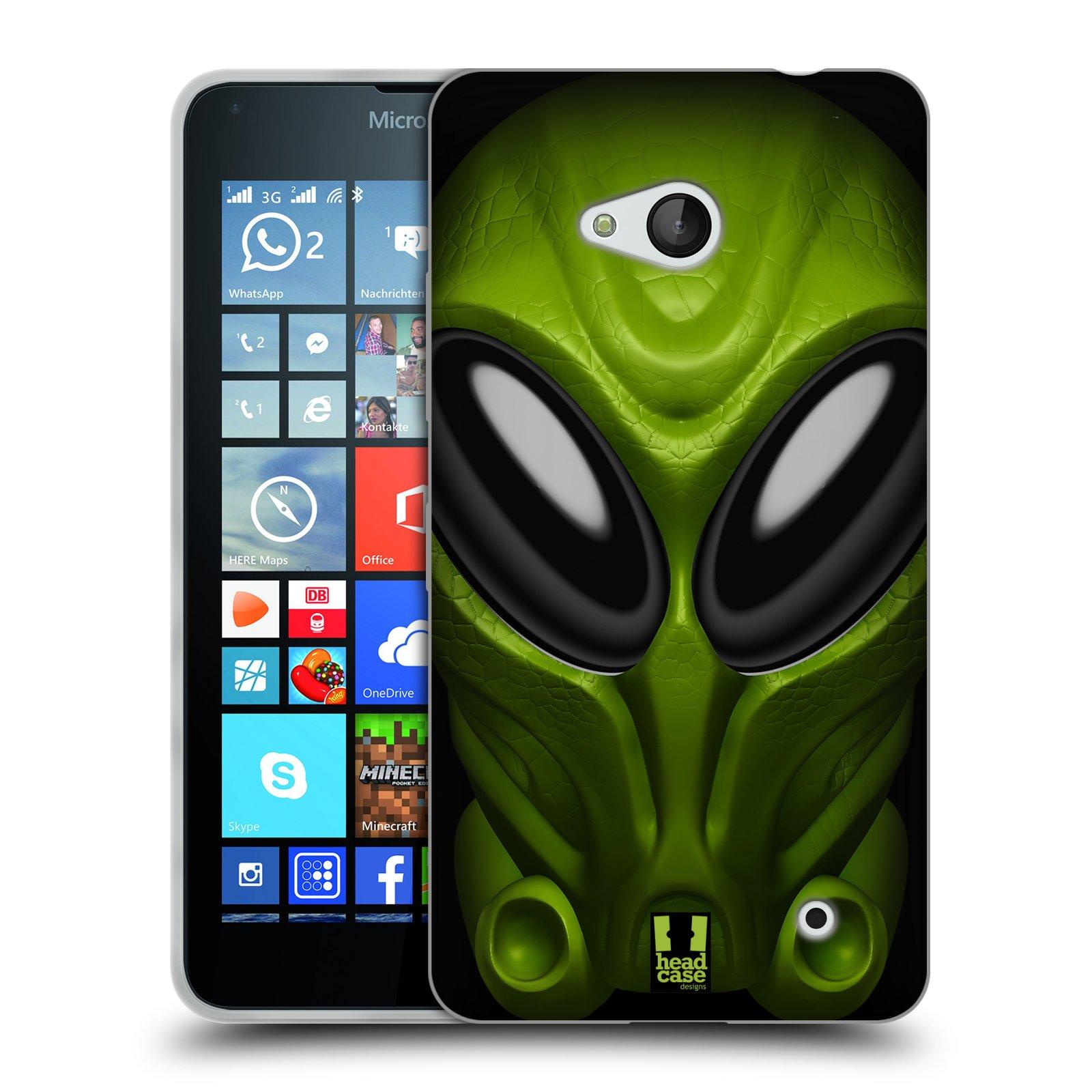 Silikonové pouzdro na mobil Microsoft Lumia 640 - Head Case - Ufoun Mastermind