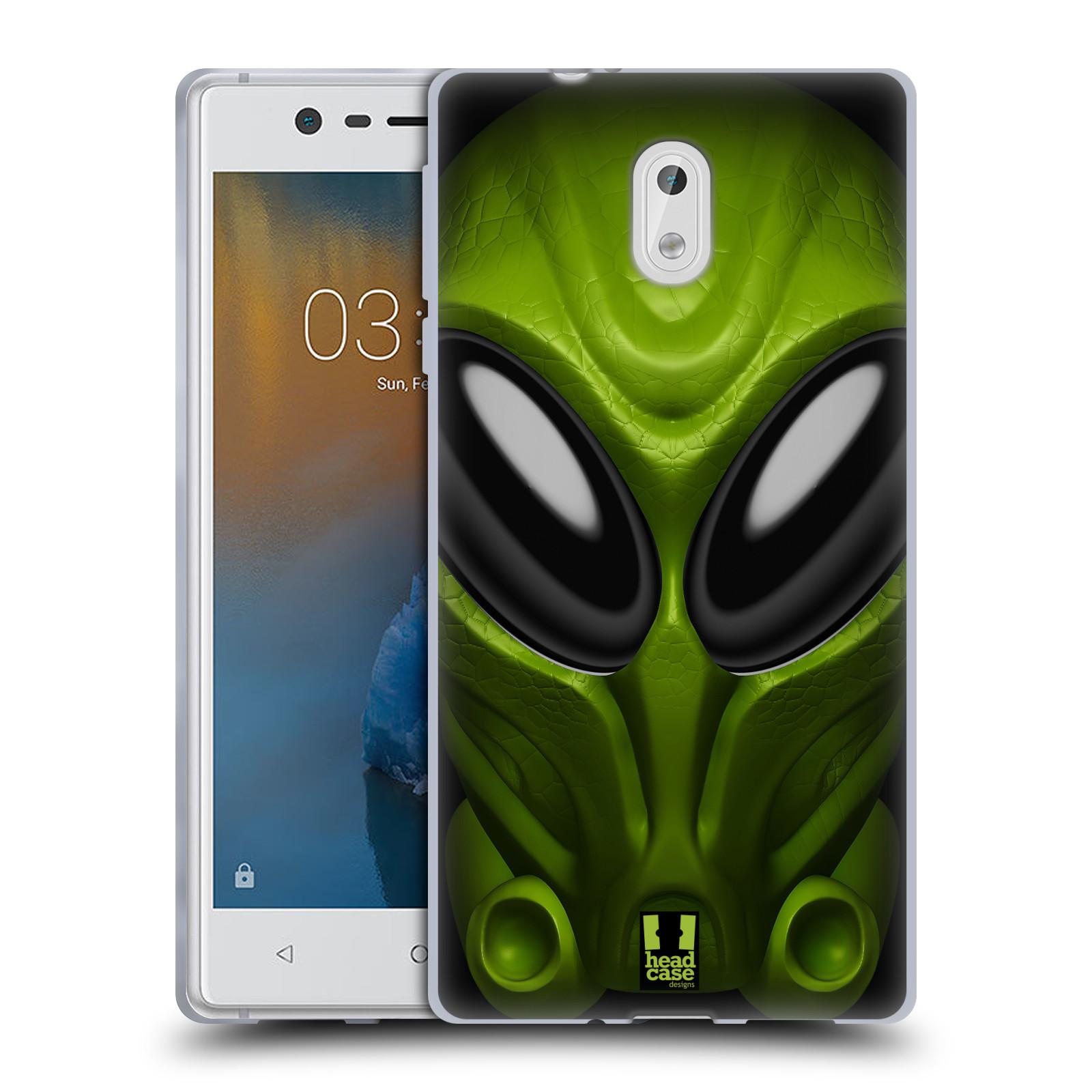Silikonové pouzdro na mobil Nokia 3 Head Case - Ufoun Mastermind