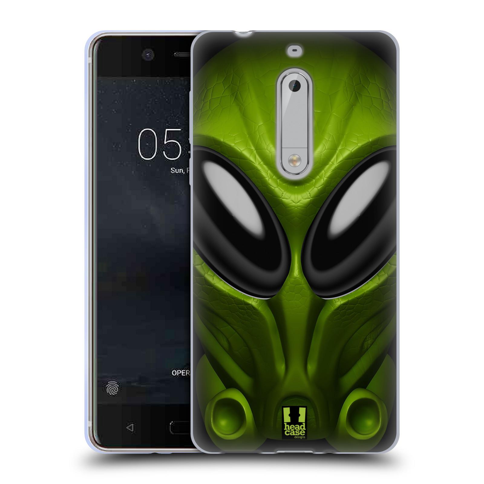 Silikonové pouzdro na mobil Nokia 5 Head Case - Ufoun Mastermind