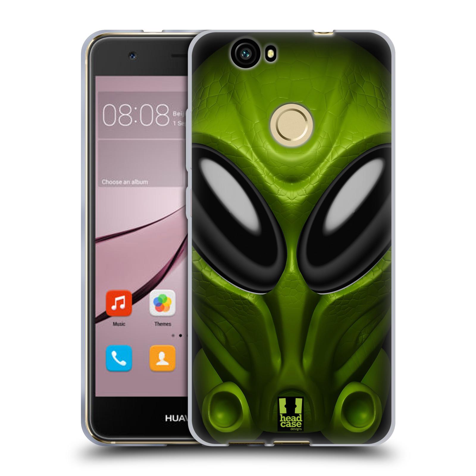 Silikonové pouzdro na mobil Huawei Nova - Head Case - Ufoun Mastermind