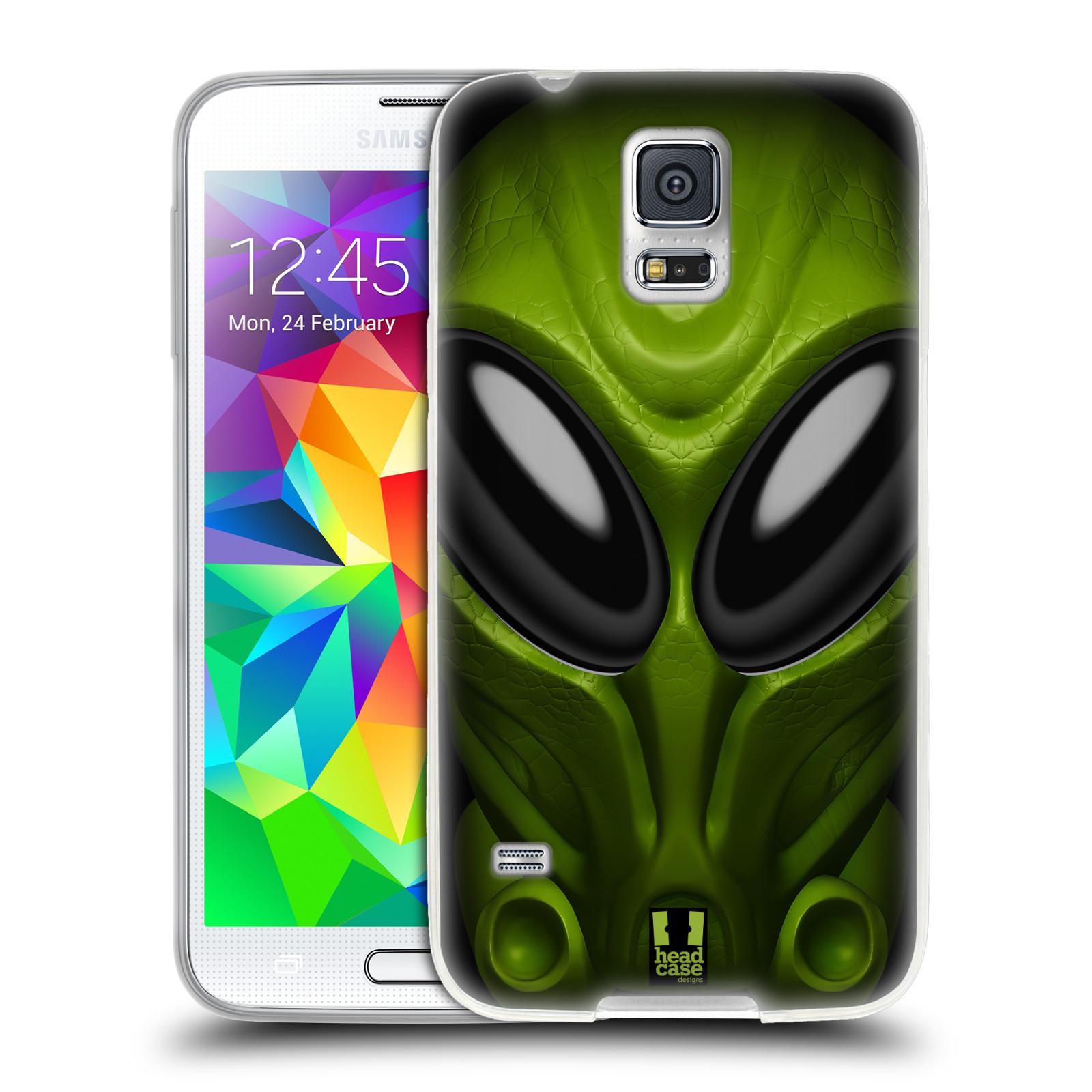 Silikonové pouzdro na mobil Samsung Galaxy S5 Neo - Head Case - Ufoun Mastermind