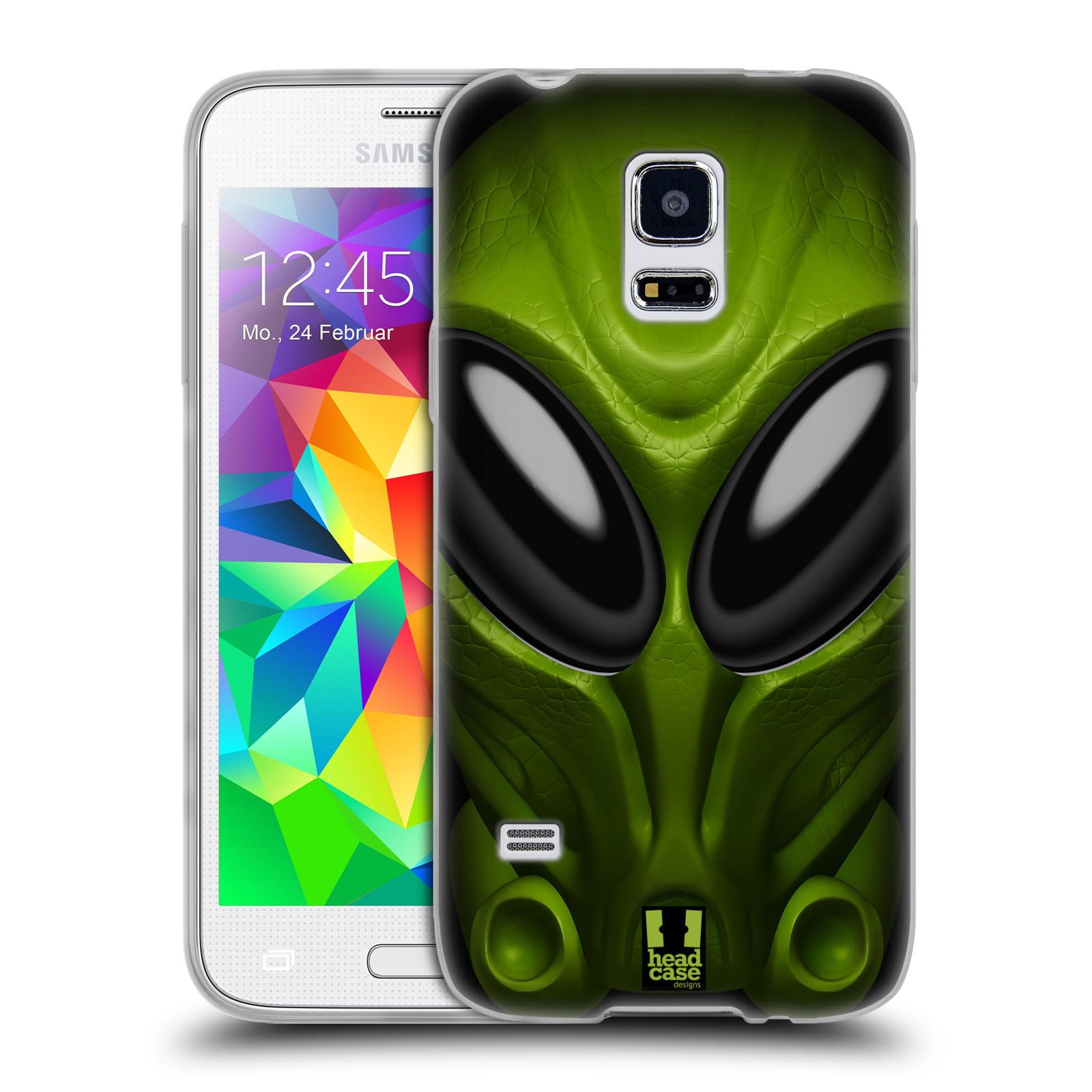 Silikonové pouzdro na mobil Samsung Galaxy S5 Mini - Head Case - Ufoun Mastermind