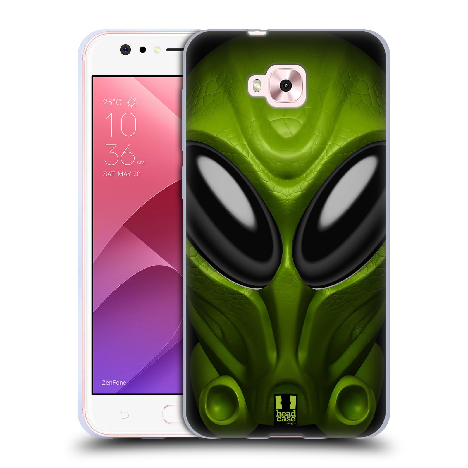 Silikonové pouzdro na mobil Asus Zenfone 4 Selfie ZD553KL - Head Case - Ufoun Mastermind