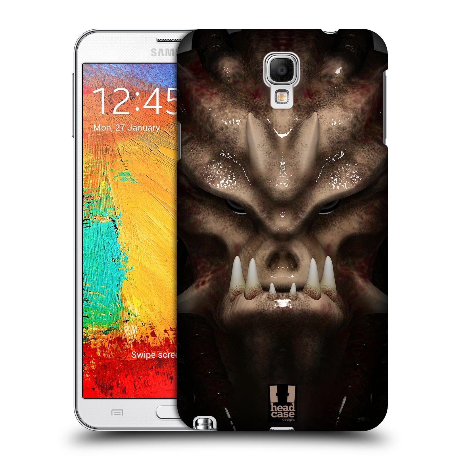 Plastové pouzdro na mobil Samsung Galaxy Note 3 Neo - Head Case - Ufoun Warhead