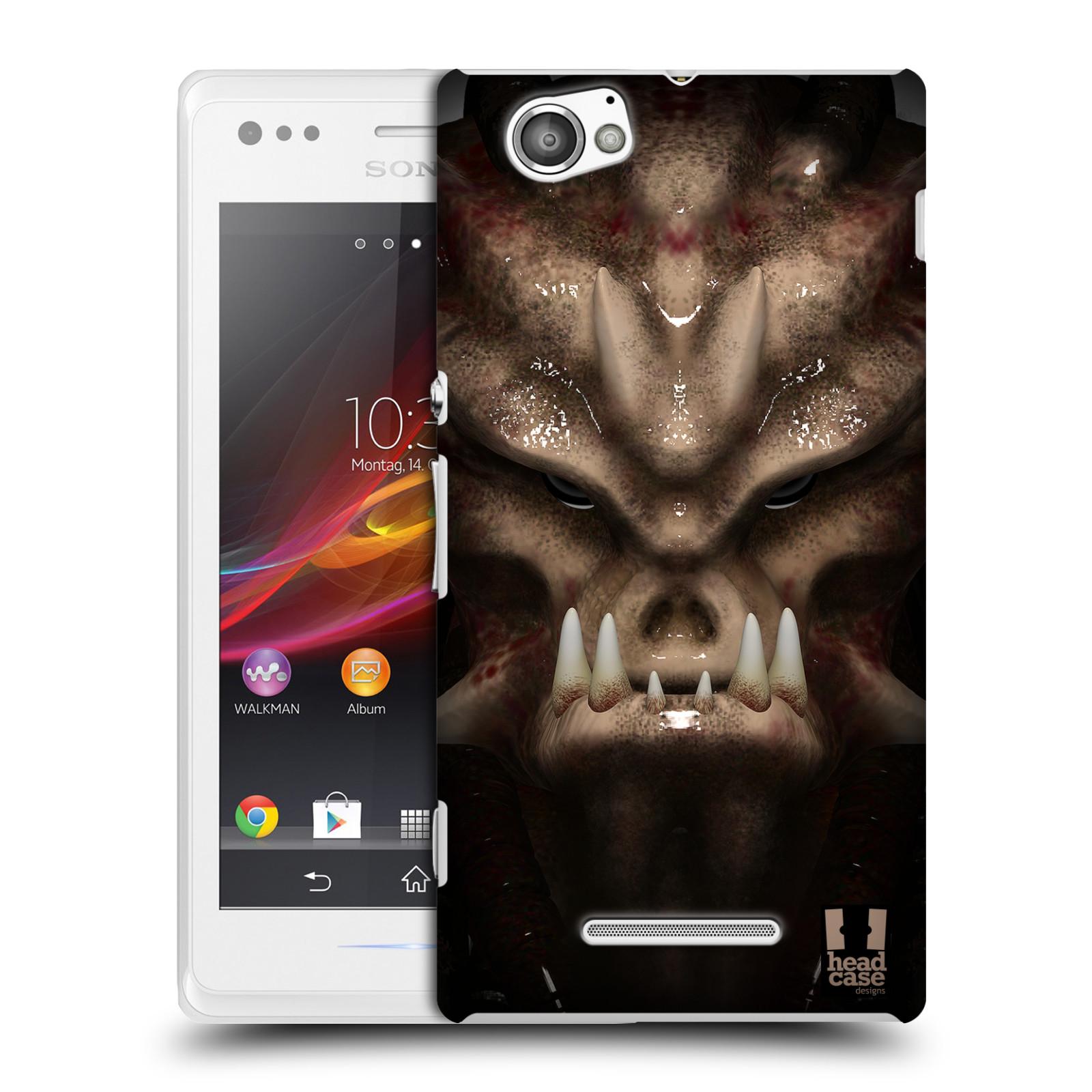 Plastové pouzdro na mobil Sony Xperia M C1905 - Head Case - Ufoun Warhead