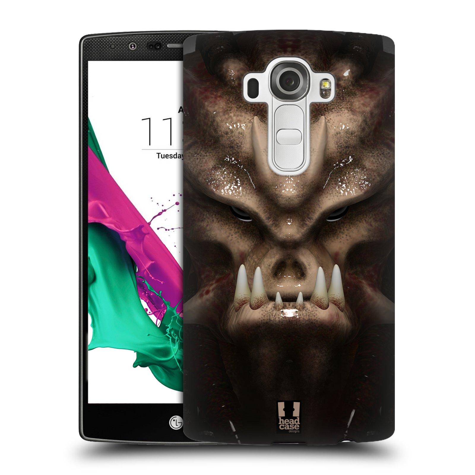 Plastové pouzdro na mobil LG G4 - Head Case - Ufoun Warhead