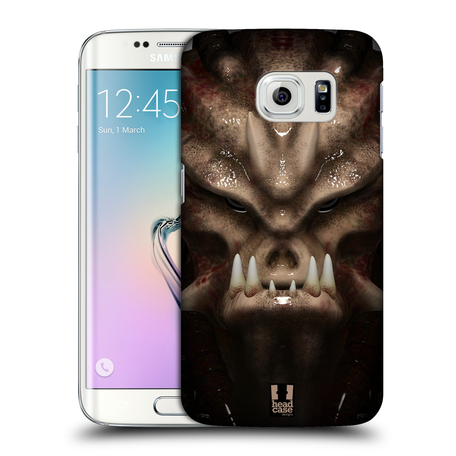 Plastové pouzdro na mobil Samsung Galaxy S6 Edge - Head Case - Ufoun Warhead