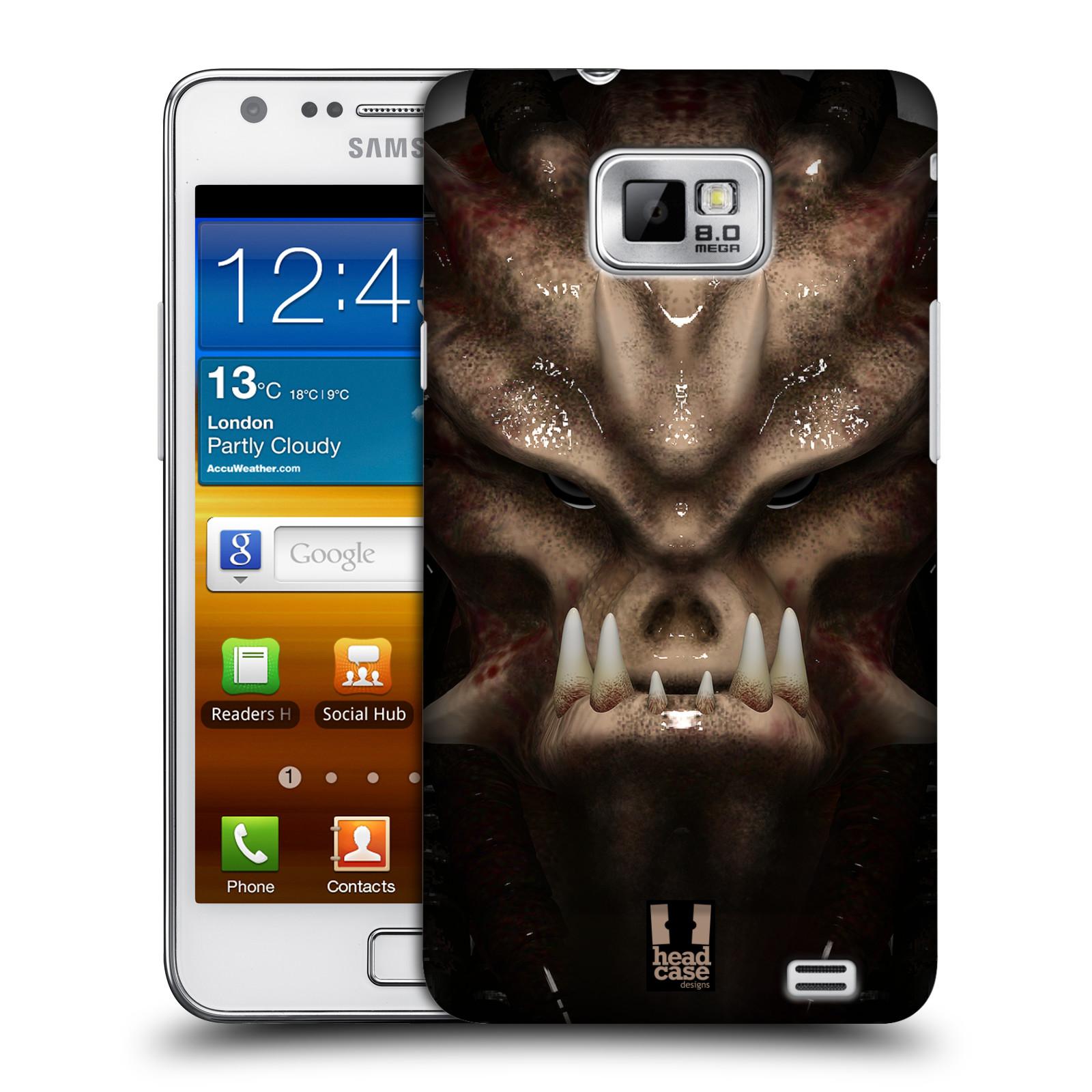 Plastové pouzdro na mobil Samsung Galaxy S II - Head Case - Ufoun Warhead