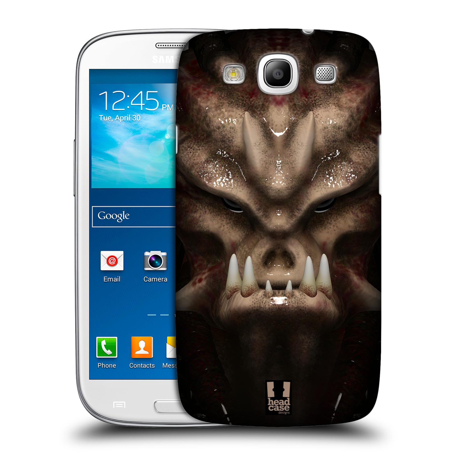 Plastové pouzdro na mobil Samsung Galaxy S III - Head Case - Ufoun Warhead