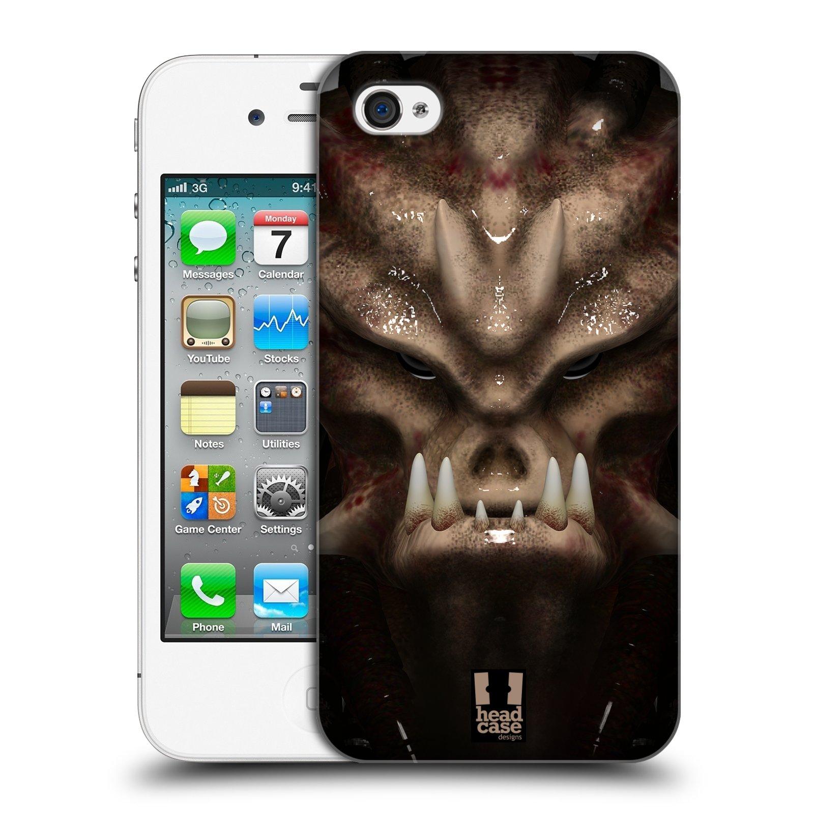 Plastové pouzdro na mobil Apple iPhone 4 a 4S - Head Case - Ufoun Warhead
