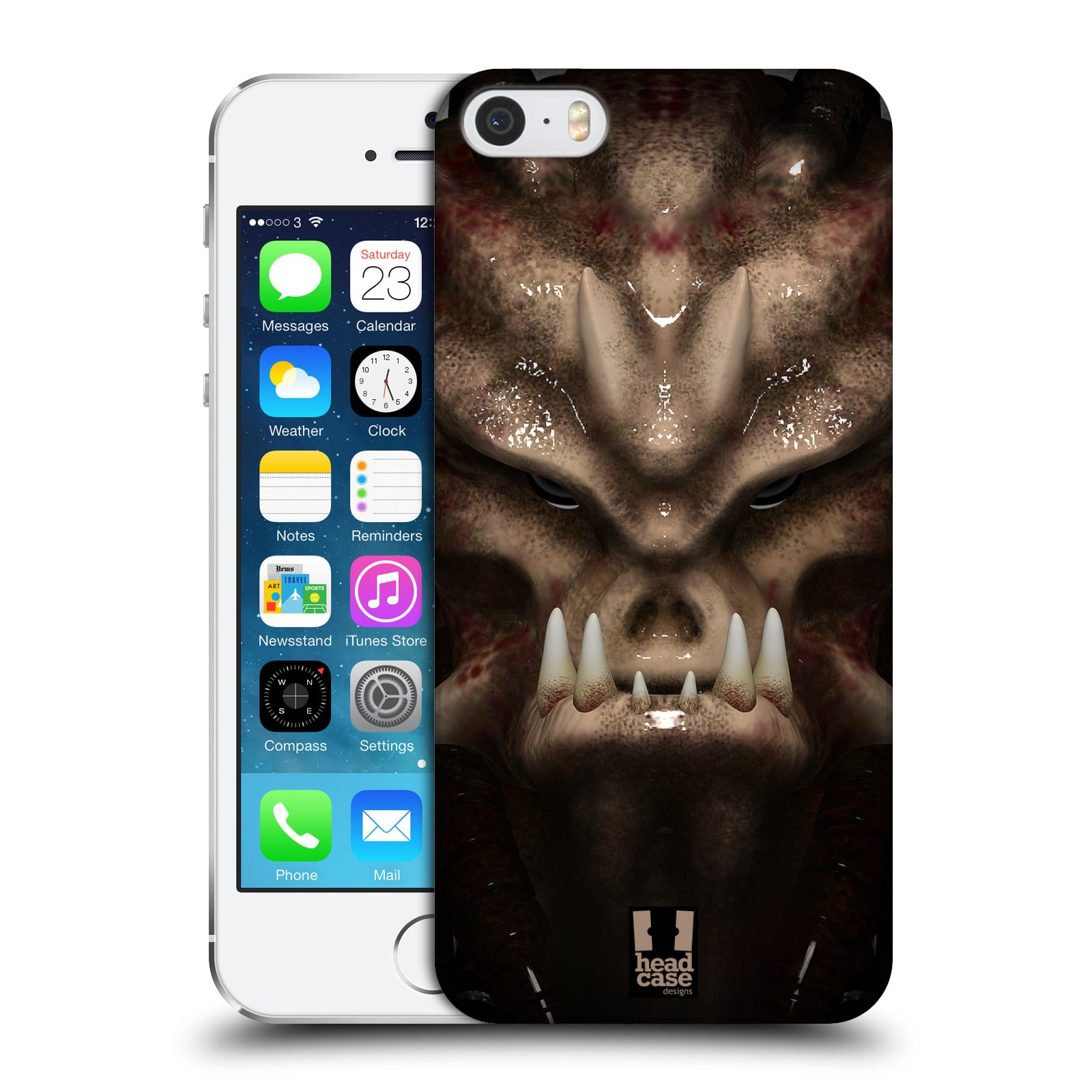 Plastové pouzdro na mobil Apple iPhone SE, 5 a 5S - Head Case - Ufoun Warhead