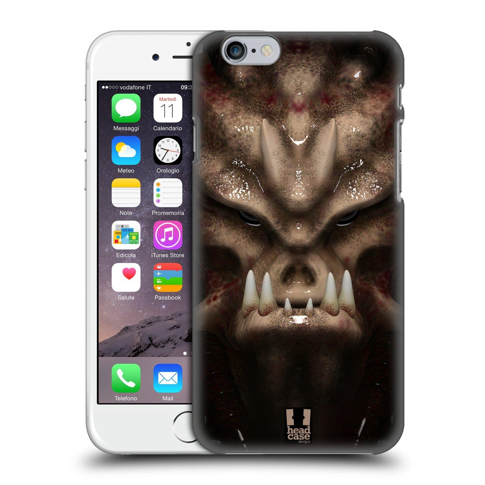 Plastové pouzdro na mobil Apple iPhone 6 - Head Case - Ufoun Warhead