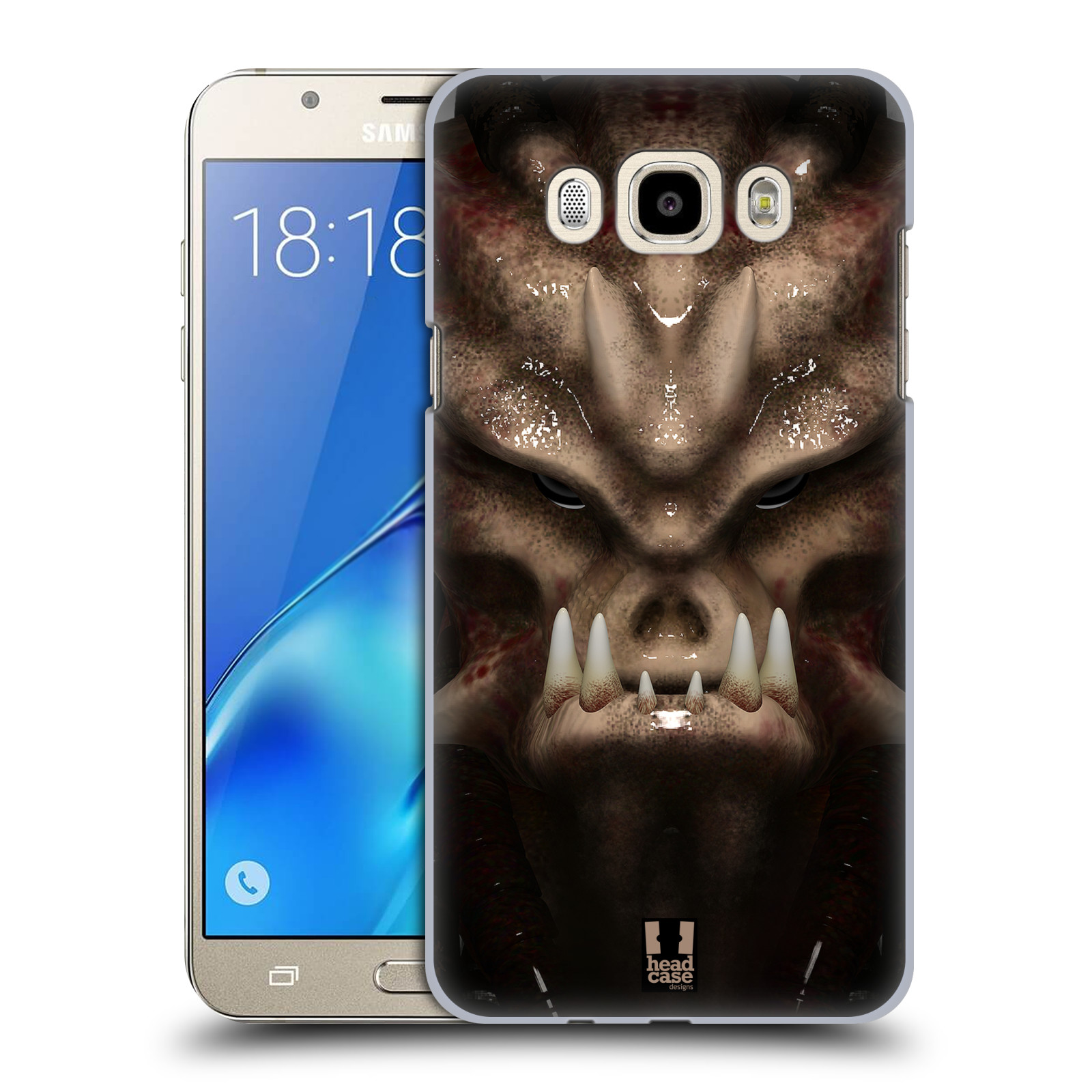 Plastové pouzdro na mobil Samsung Galaxy J7 (2016) - Head Case - Ufoun Warhead