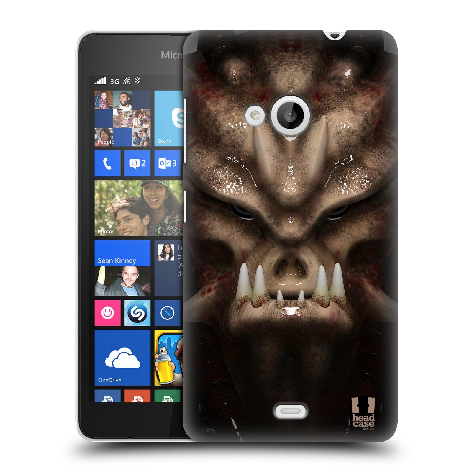 Plastové pouzdro na mobil Microsoft Lumia 535 - Head Case - Ufoun Warhead