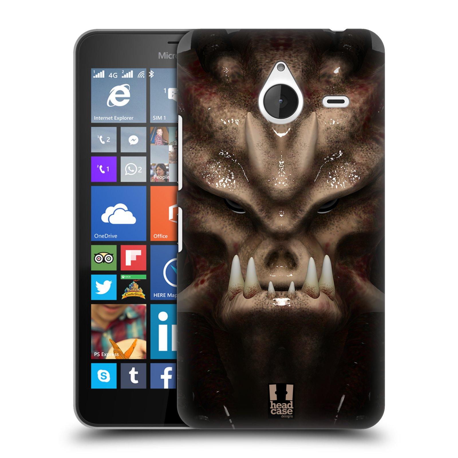 Plastové pouzdro na mobil Microsoft Lumia 640 XL - Head Case - Ufoun Warhead