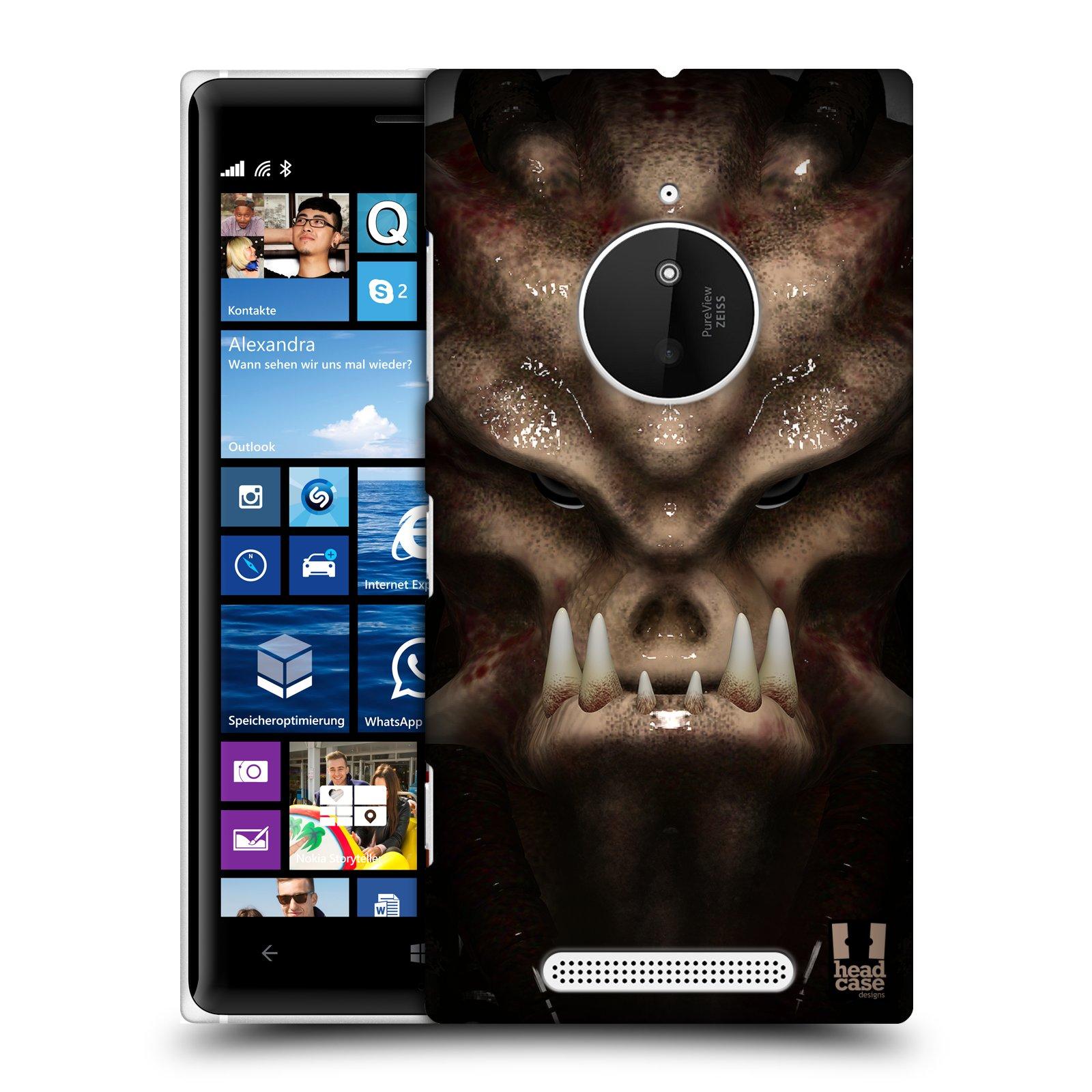 Plastové pouzdro na mobil Nokia Lumia 830 - Head Case - Ufoun Warhead