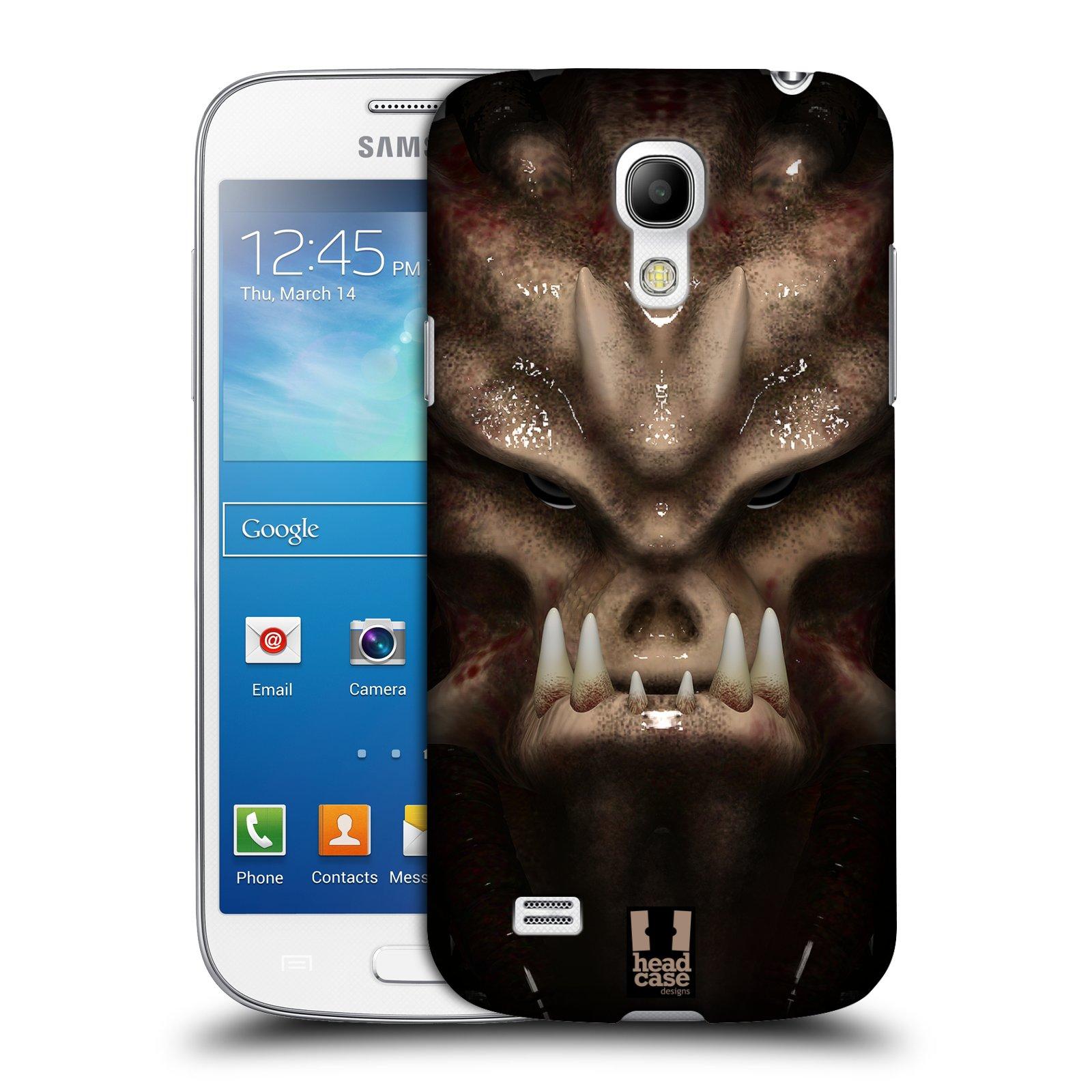Plastové pouzdro na mobil Samsung Galaxy S4 Mini - Head Case - Ufoun Warhead