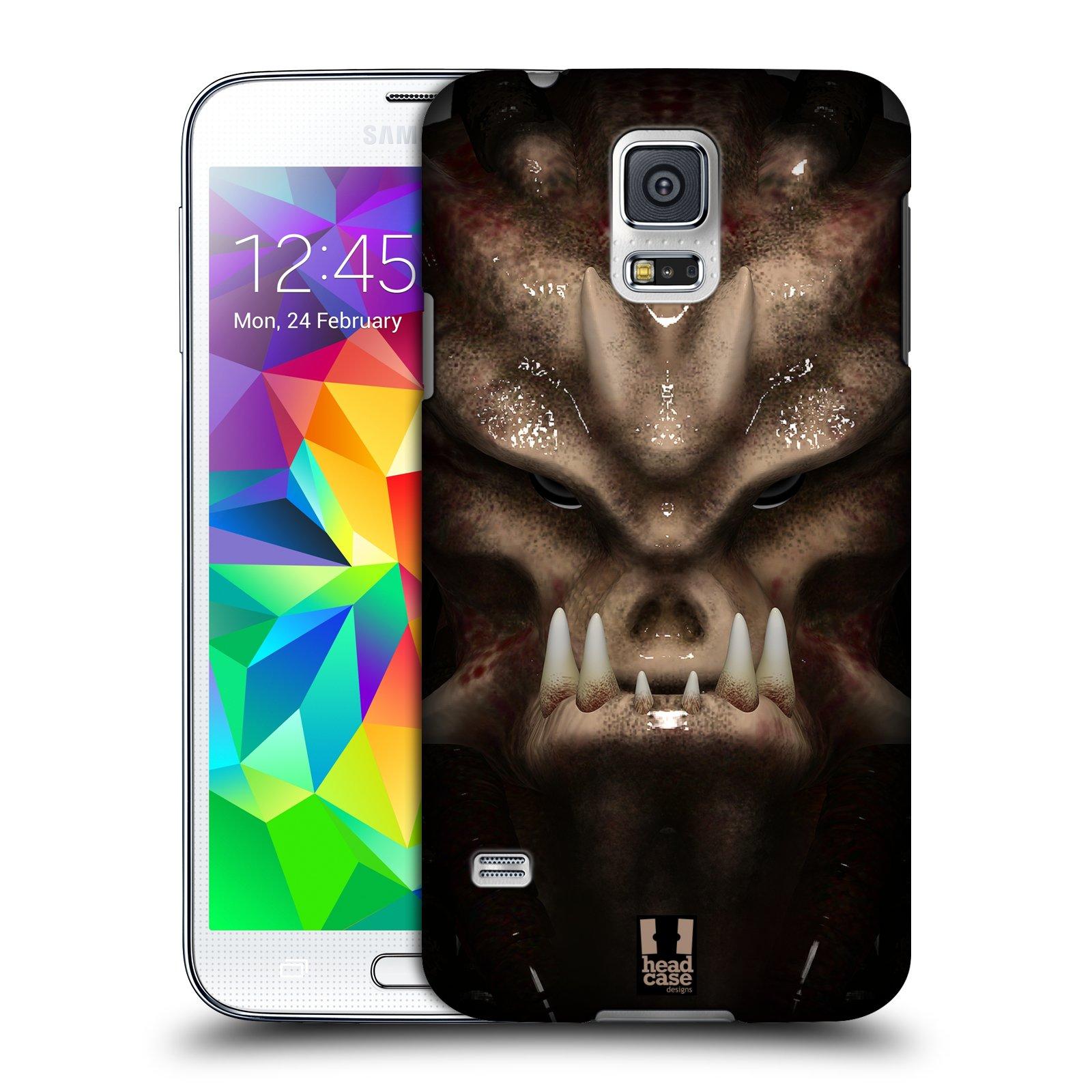Plastové pouzdro na mobil Samsung Galaxy S5 - Head Case - Ufoun Warhead