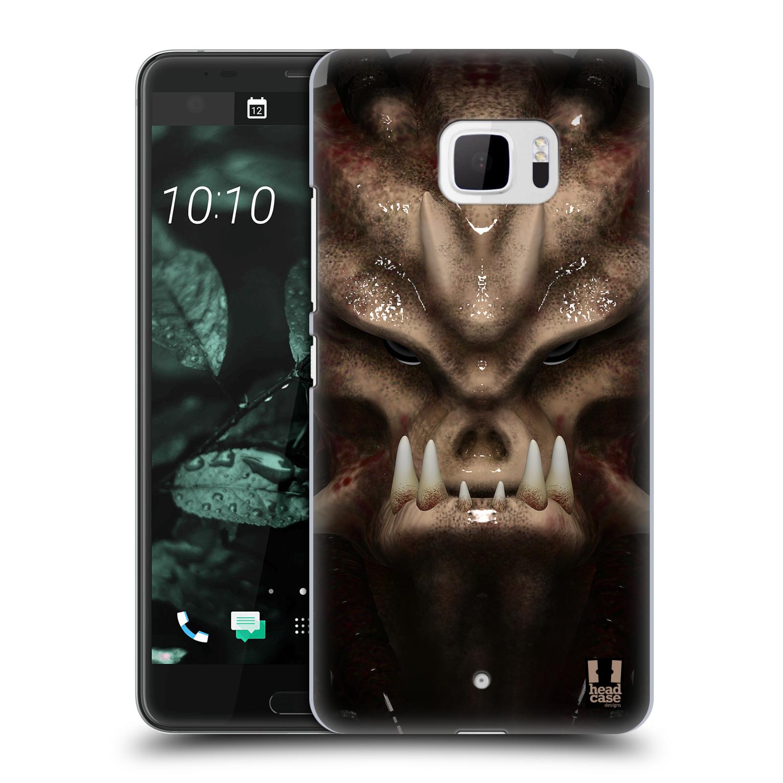Plastové pouzdro na mobil HTC U Ultra Head Case - Ufoun Warhead (Plastový kryt či obal na mobilní telefon s motivem Ufouna Warheada pro HTC U Ultra (99HALT015-00))