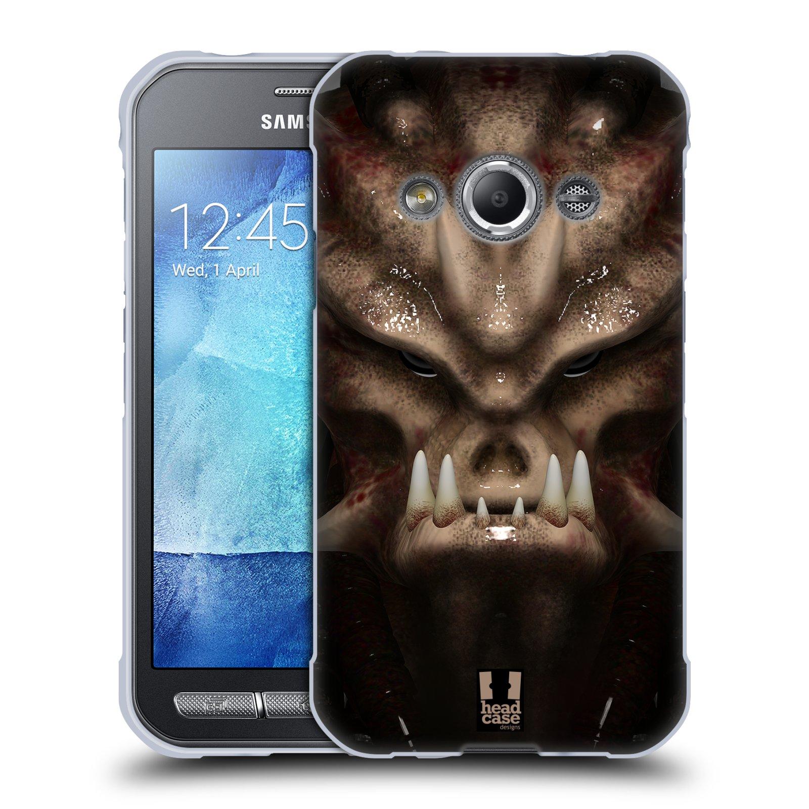 Silikonové pouzdro na mobil Samsung Galaxy Xcover 3 - Head Case - Ufoun Warhead