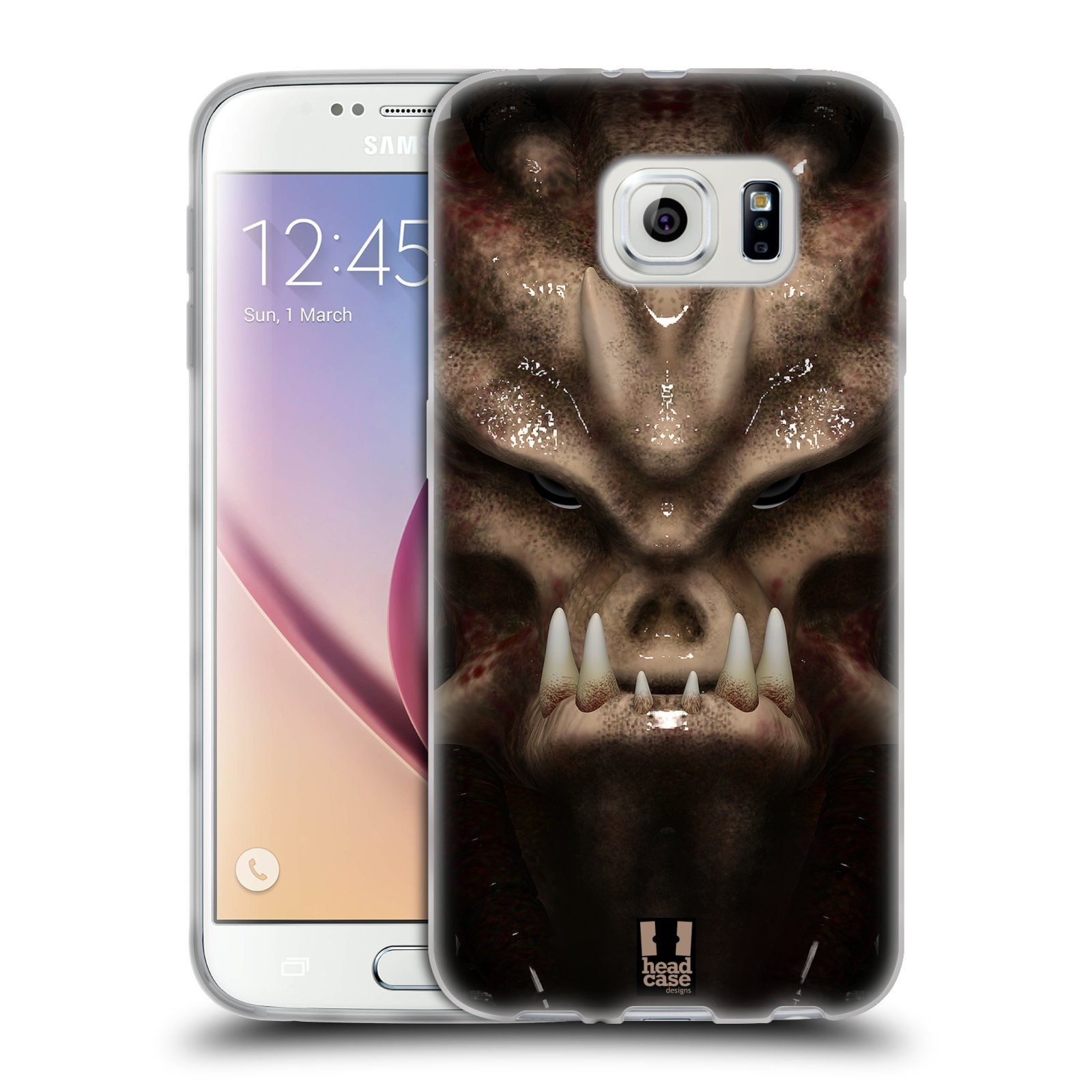 Silikonové pouzdro na mobil Samsung Galaxy S6 - Head Case - Ufoun Warhead