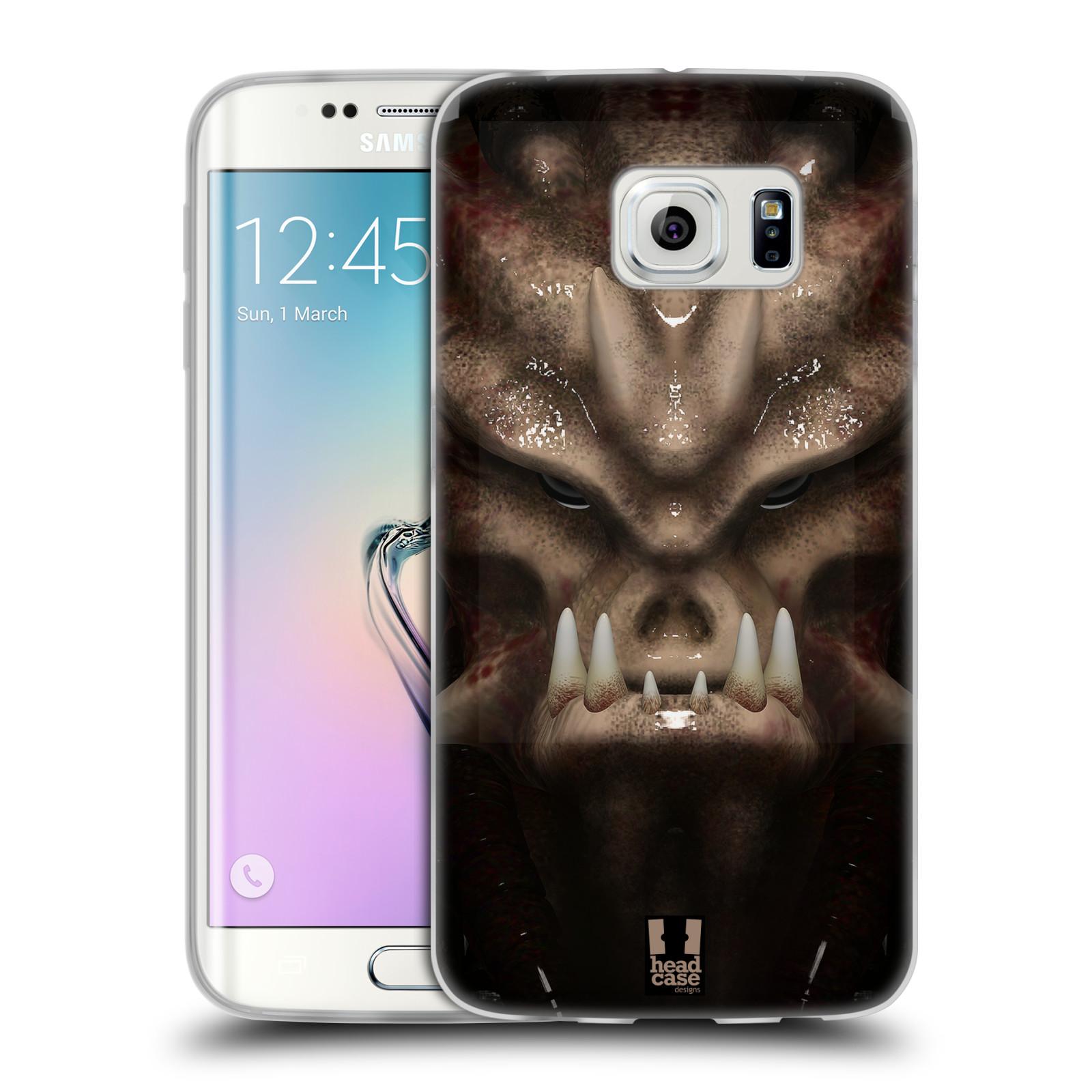 Silikonové pouzdro na mobil Samsung Galaxy S6 Edge - Head Case - Ufoun Warhead