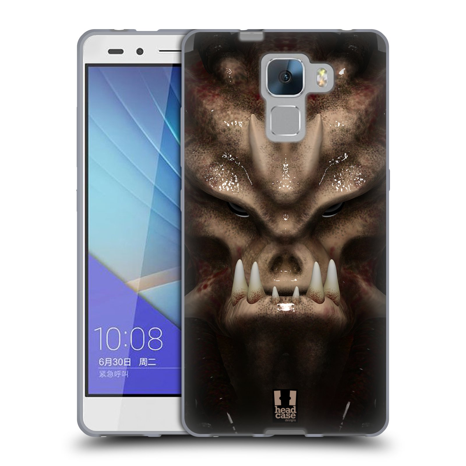 Silikonové pouzdro na mobil Honor 7 - Head Case - Ufoun Warhead