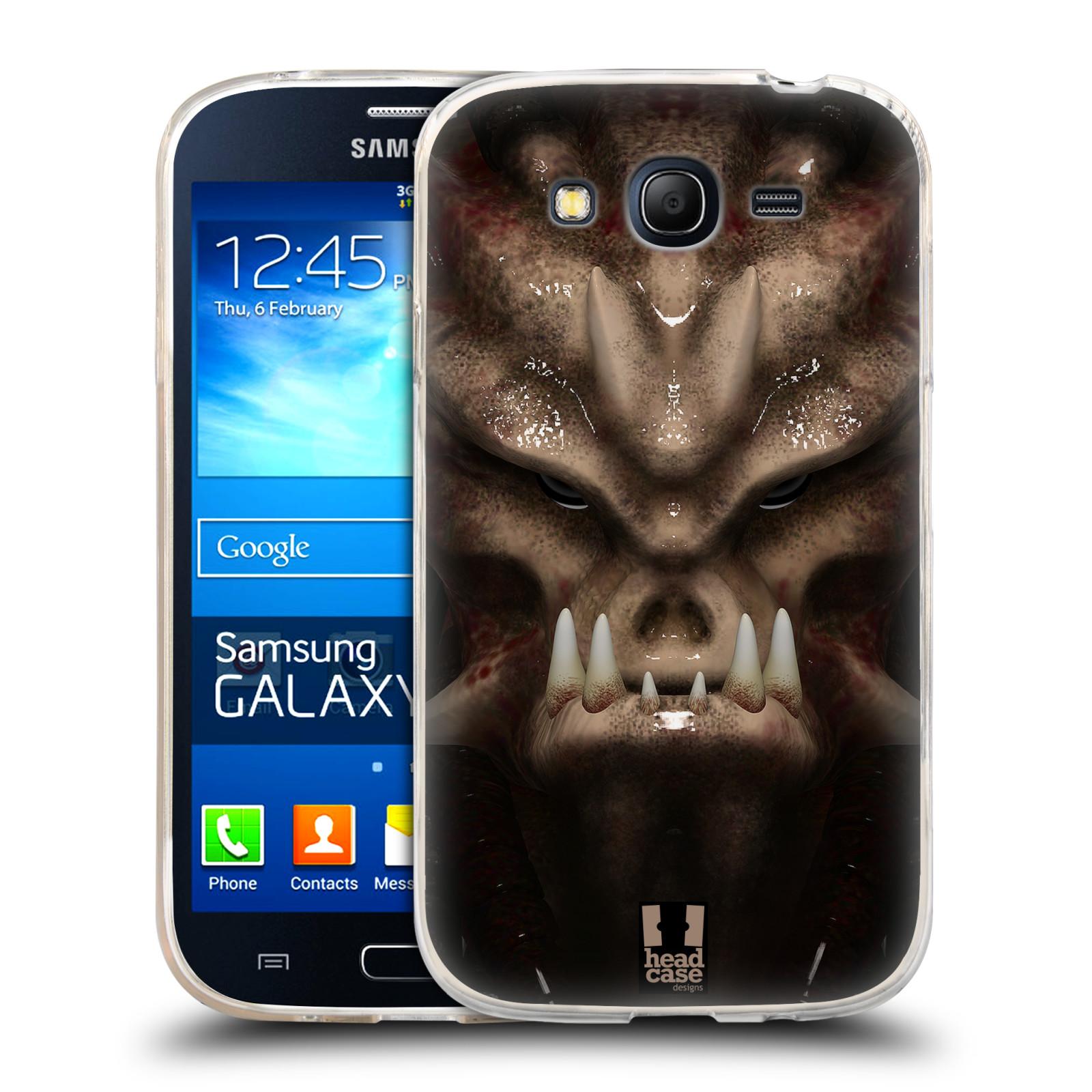 Silikonové pouzdro na mobil Samsung Galaxy Grand Neo Plus - Head Case - Ufoun Warhead